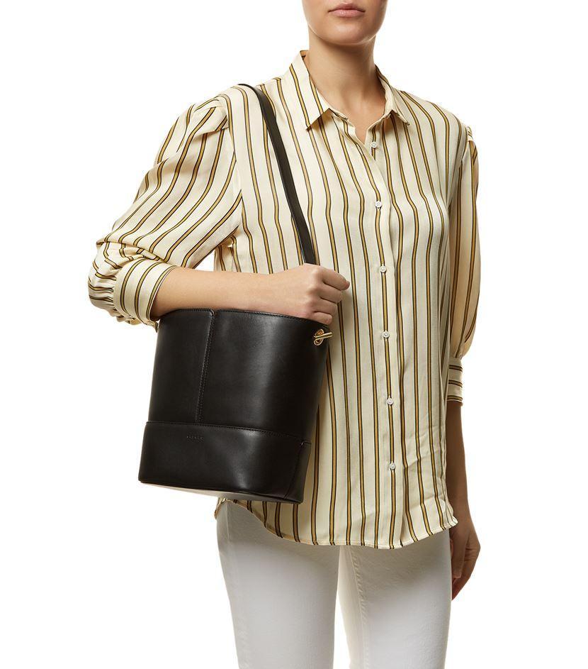 Sandro Lou Bucket Bag In Black Lyst