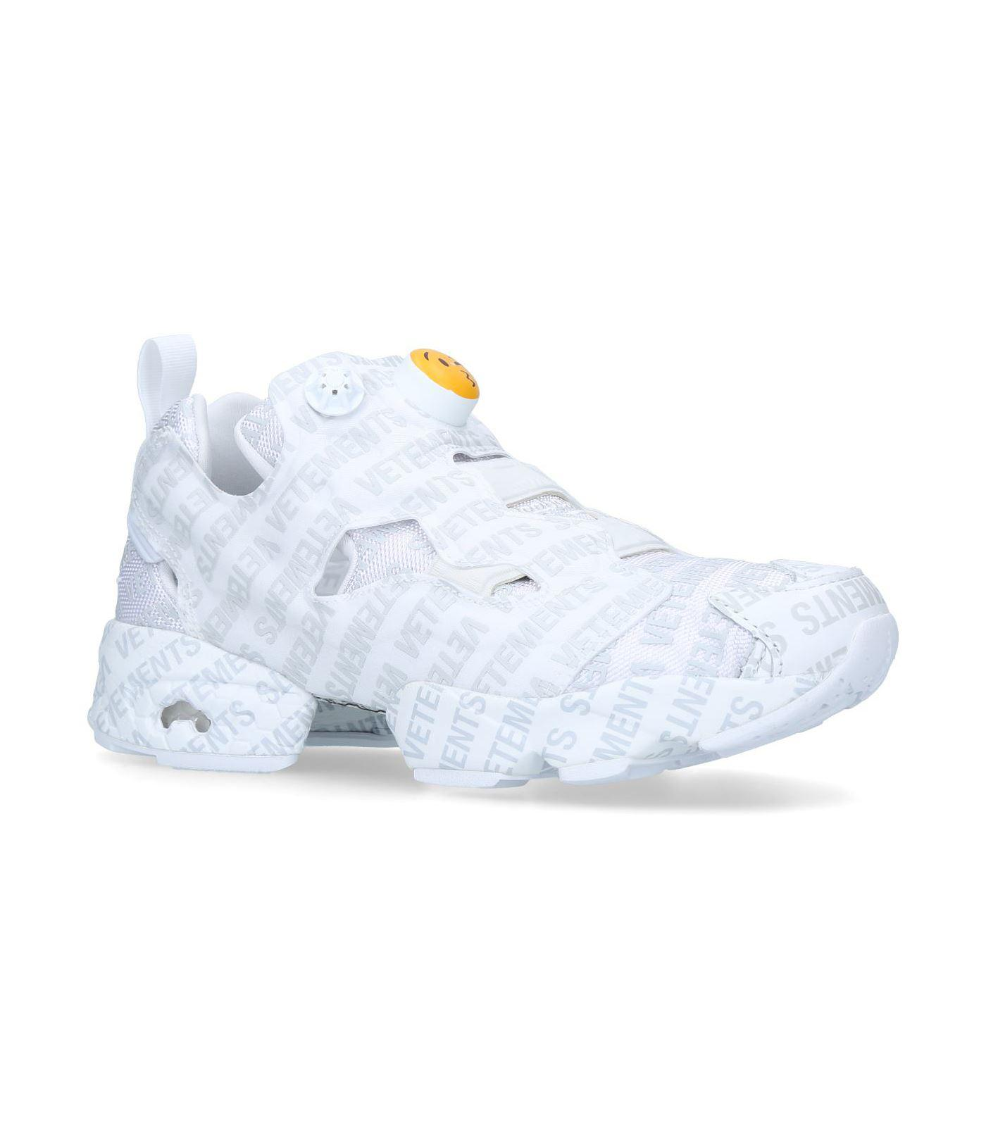 7af4c67ce5  size 7 Lyst - Vetements Logo Instapump Fury Emoji Sneakers in  Gray for Men 687129e1ce ... 278644ce8