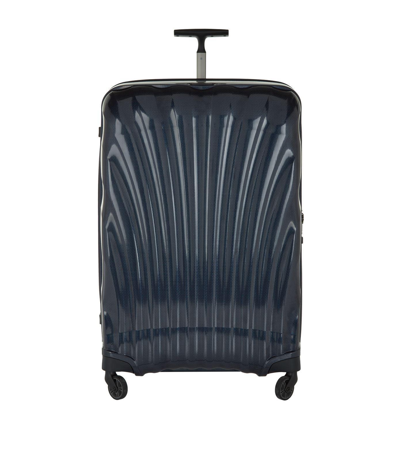 samsonite cosmolite 3 0 spinner 69cm in blue lyst. Black Bedroom Furniture Sets. Home Design Ideas