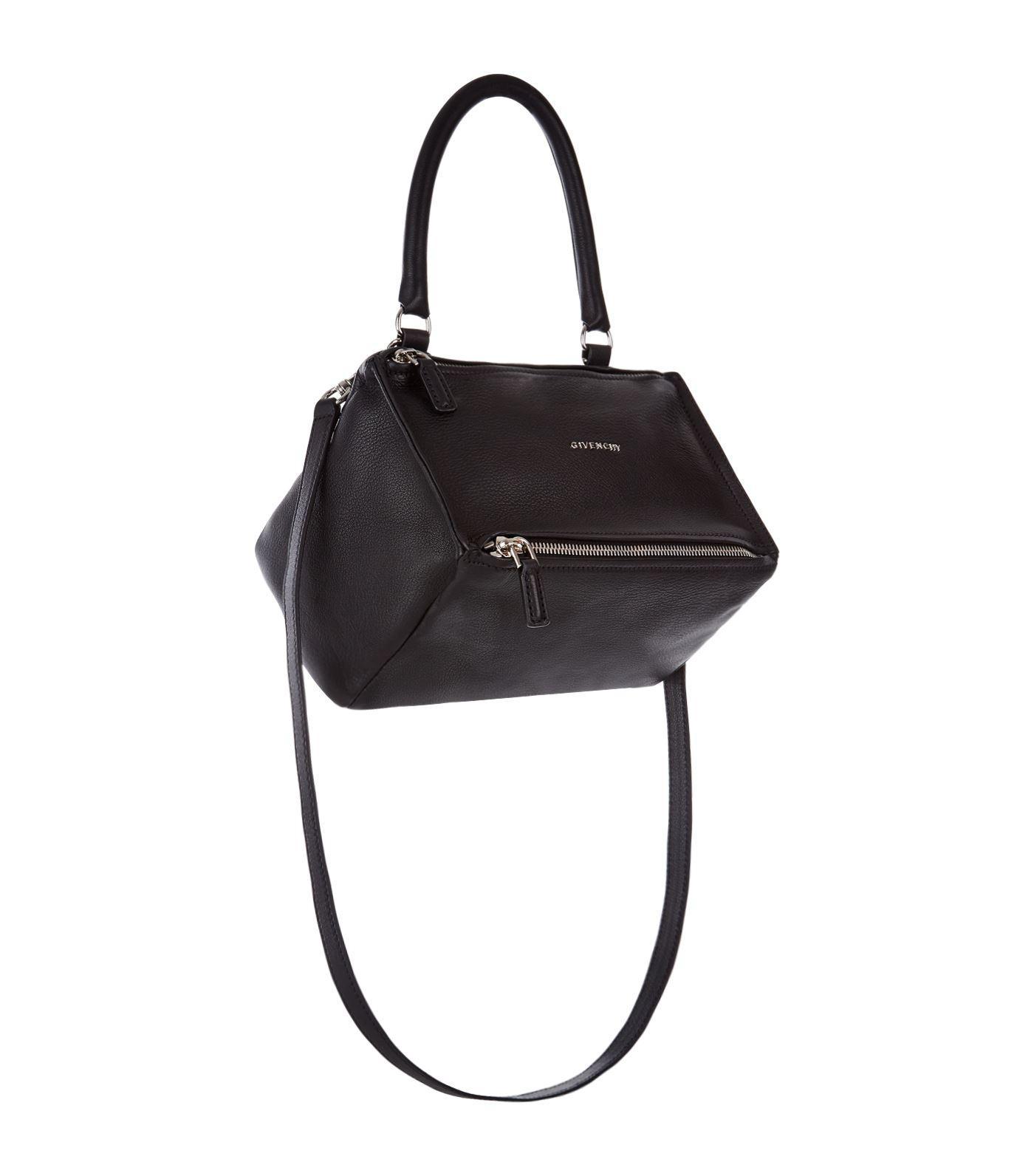 2486d3d80e Lyst - Givenchy Small Pandora Shoulder Bag in Black - Save ...