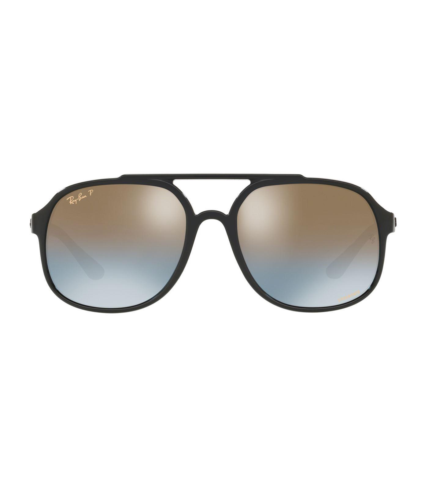 91deb88993 Ray-Ban Chromance Pilot Sunglasses in Black for Men - Lyst