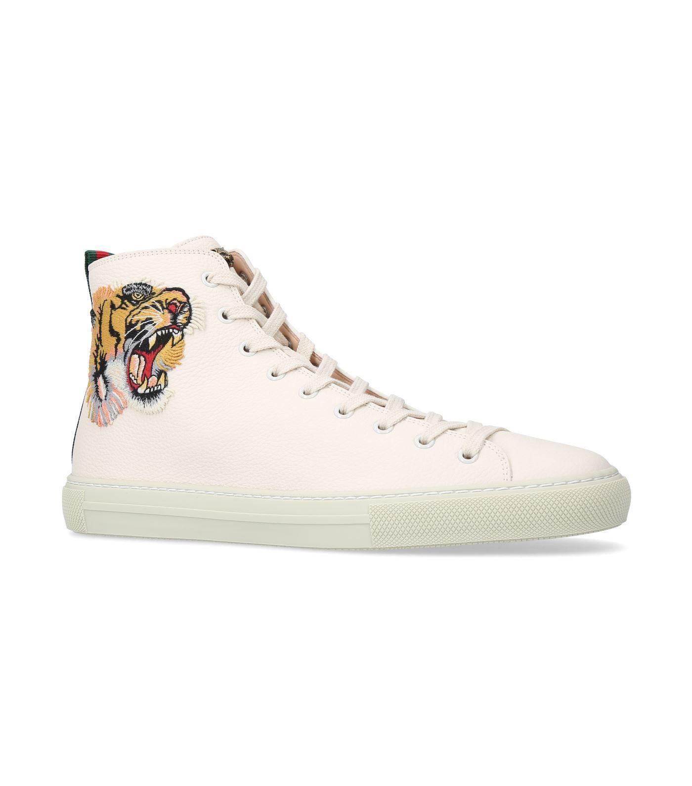 Major Tiger High,top Sneakers