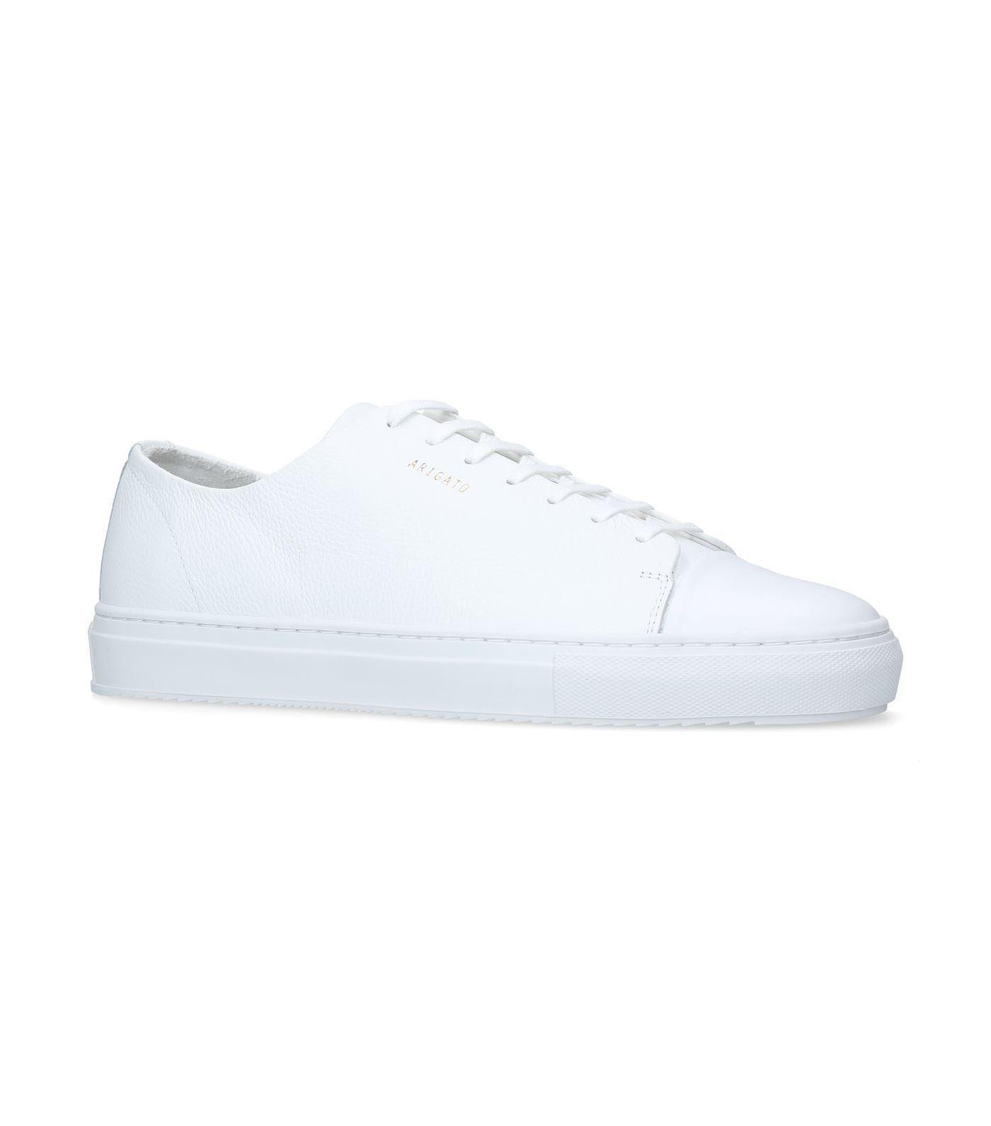 7298b85cb39e Lyst - Axel Arigato Leather Cap-toe Sneakers in White