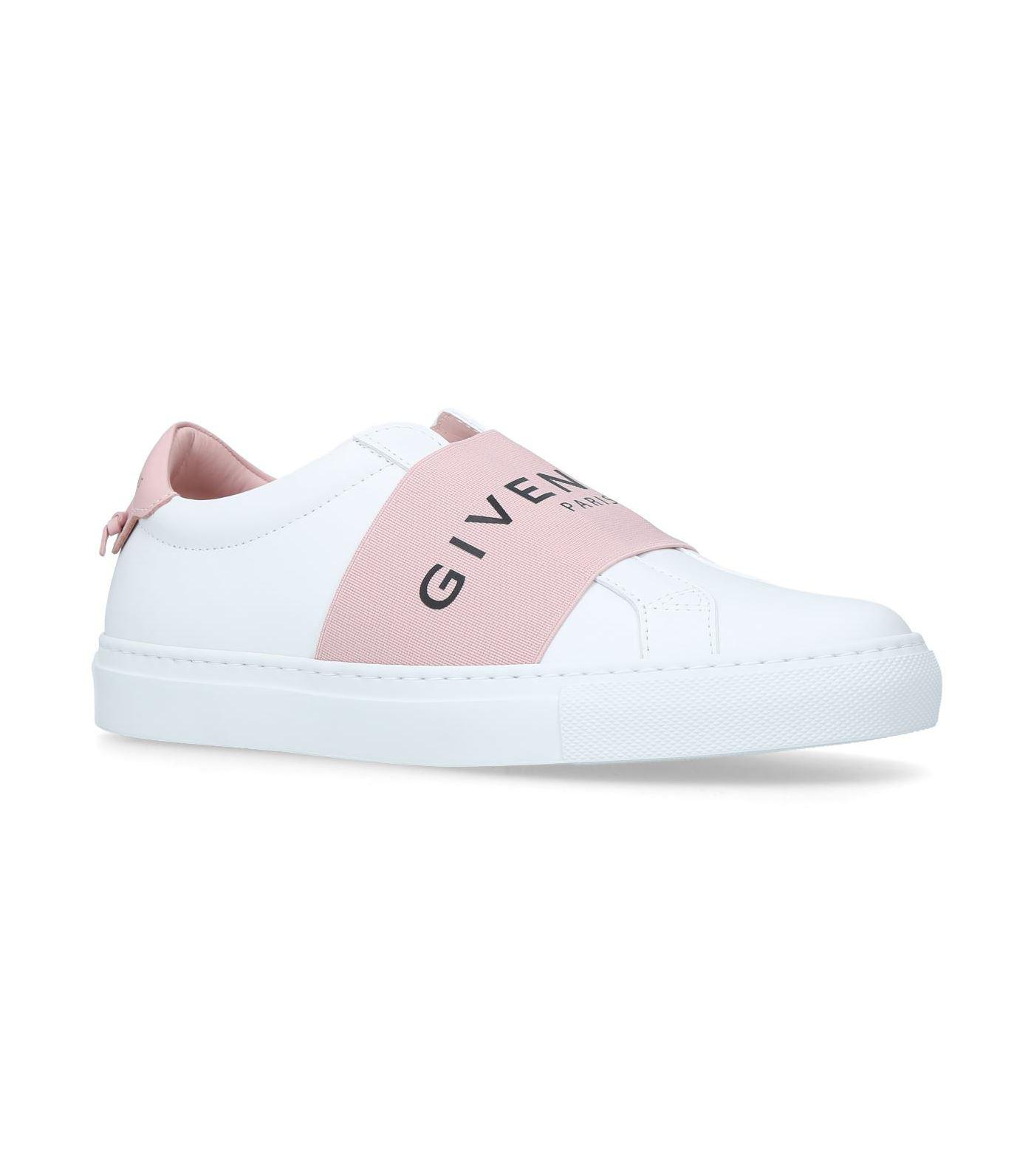 Givenchy Logo Strap Sneakers in Pink - Lyst
