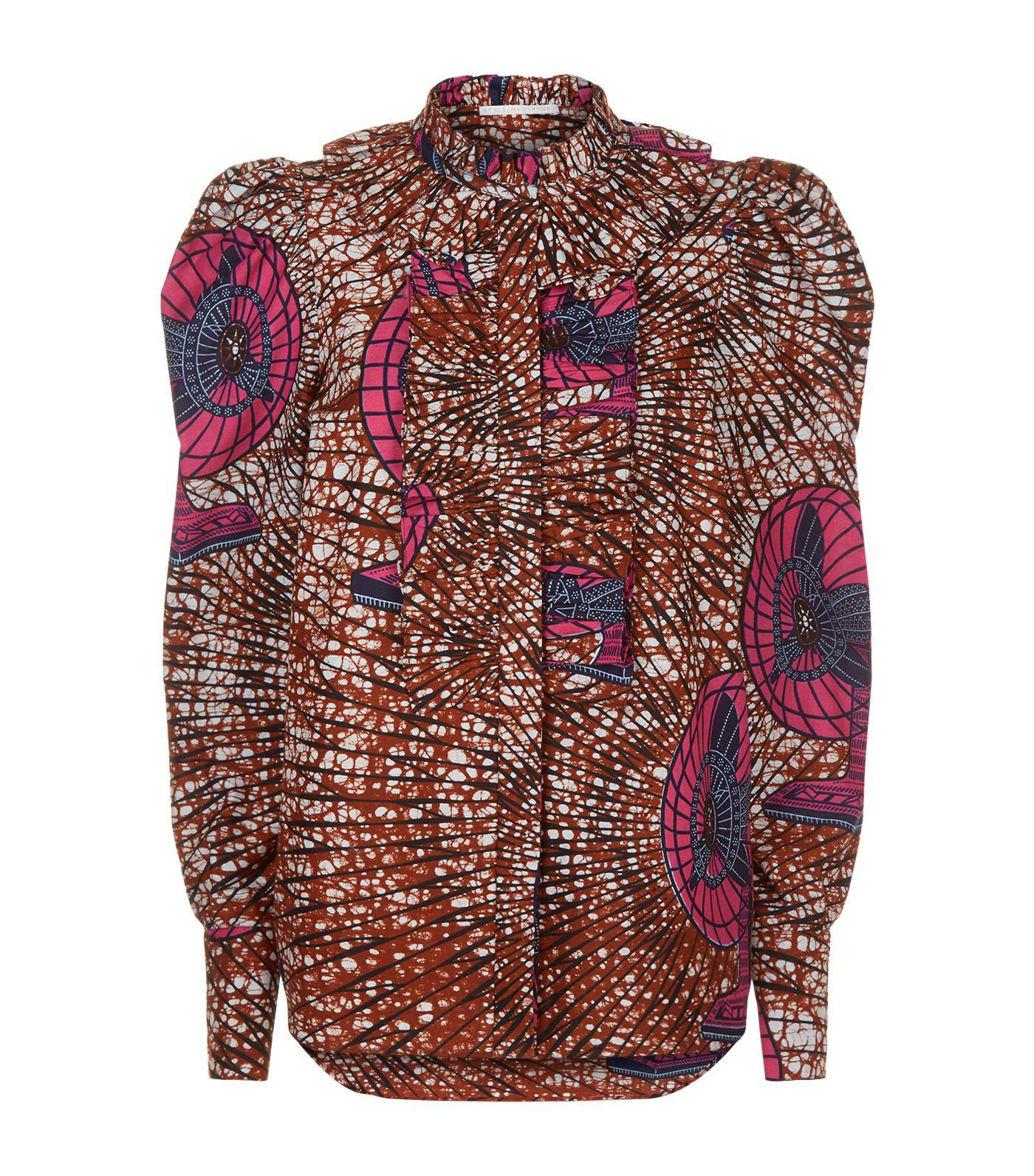 Shaylee printed shirt Stella McCartney Browse Cheap Online Sale Footaction B1l5Rf