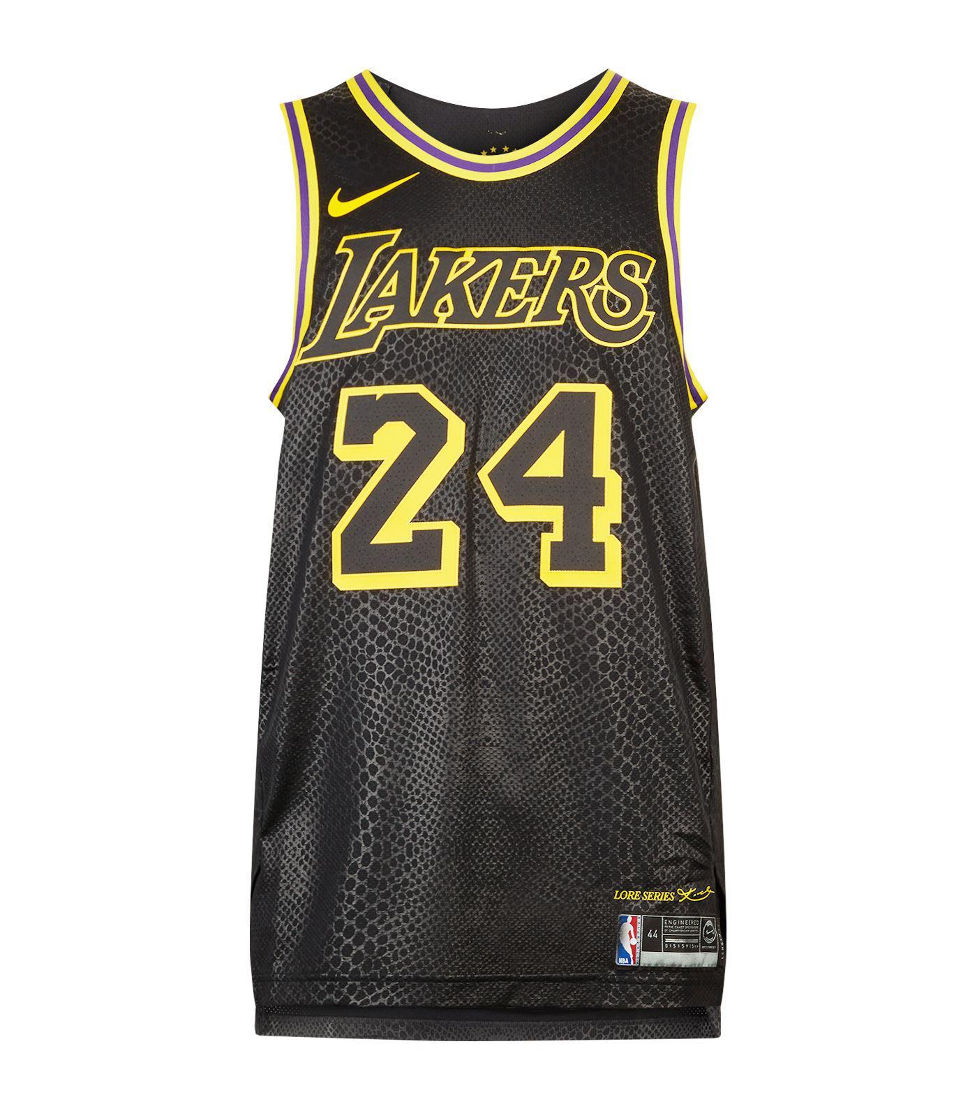 new products f103b 6cf99 Nike Black Kobe Bryant Lakers Jersey Tank for men