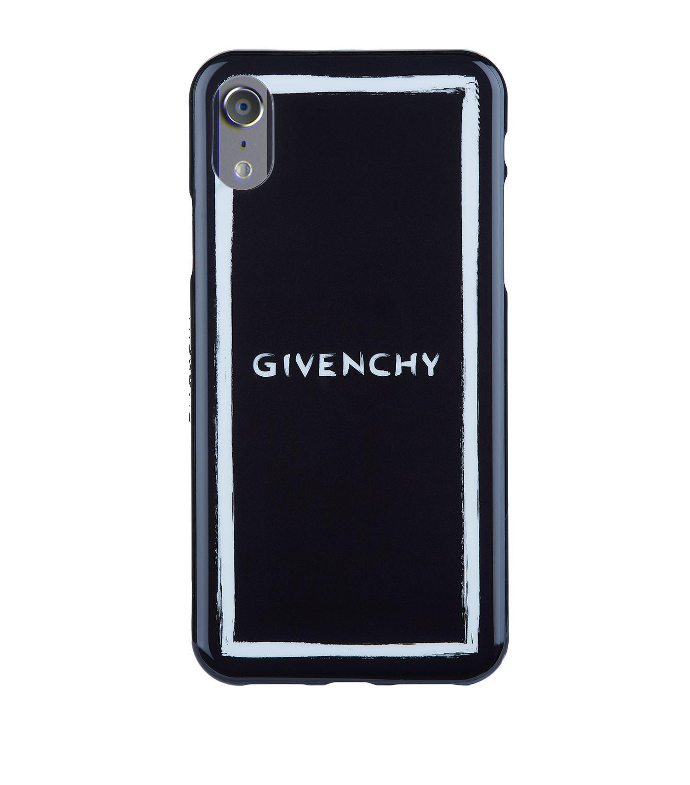 online retailer bc0a3 babeb Givenchy Black Paint Sketch Iphone X Case