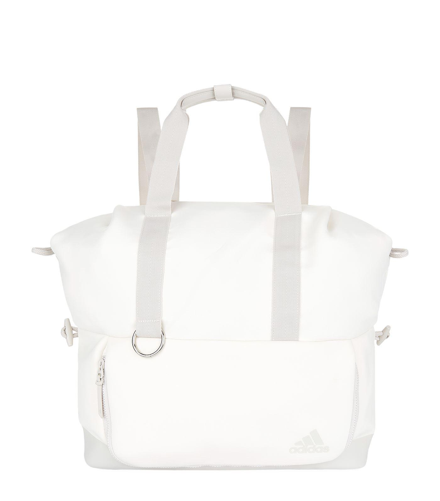 Lyst - adidas Favourite Convertible Tote Bag in White 8ac5220ed83ce