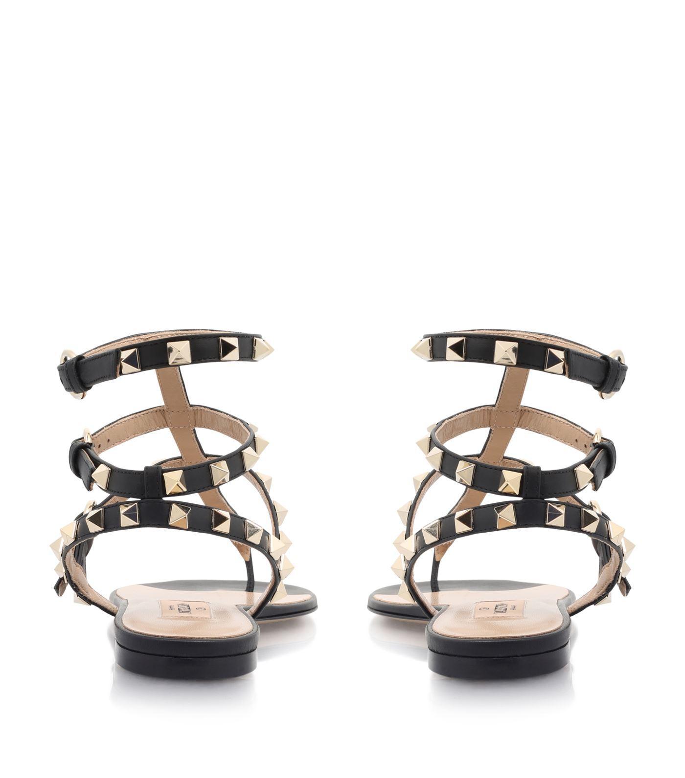 4bd52e54aac67d Rockstud Jelly Sandals Black.Valentino Rockstud Jelly Sandals In ...