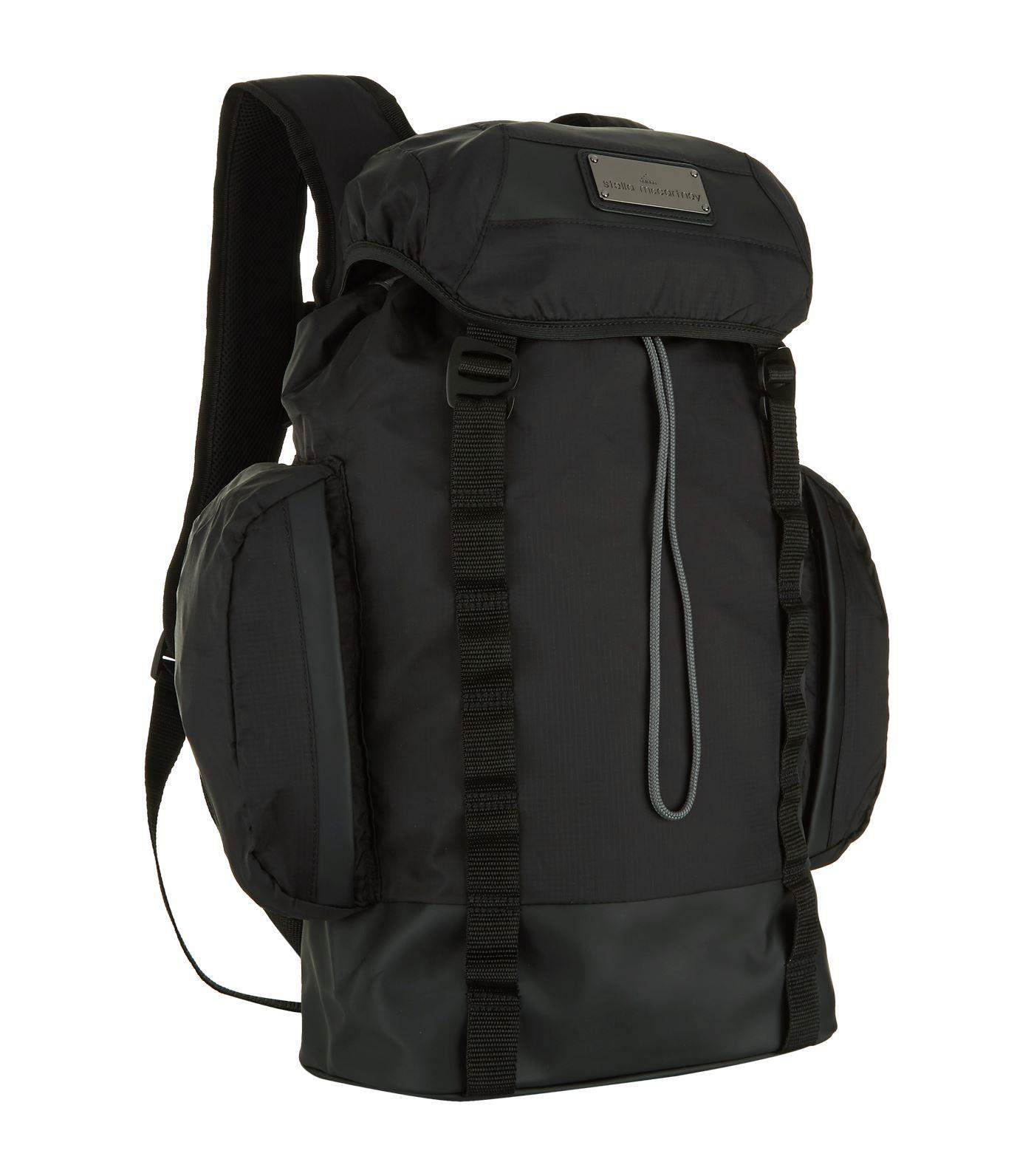 adidas By Stella McCartney Synthetic Weekender Backpack in Black for Men