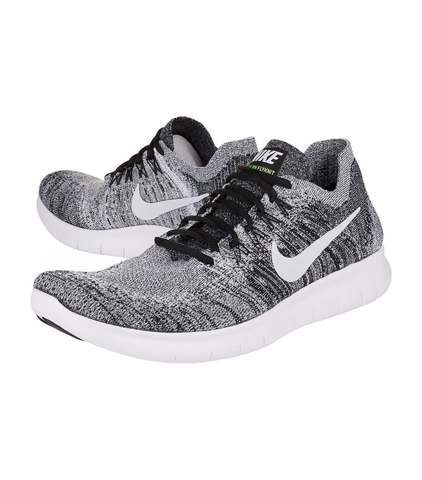 Nike Rubber Free Run Flyknit Running Shoes for Men