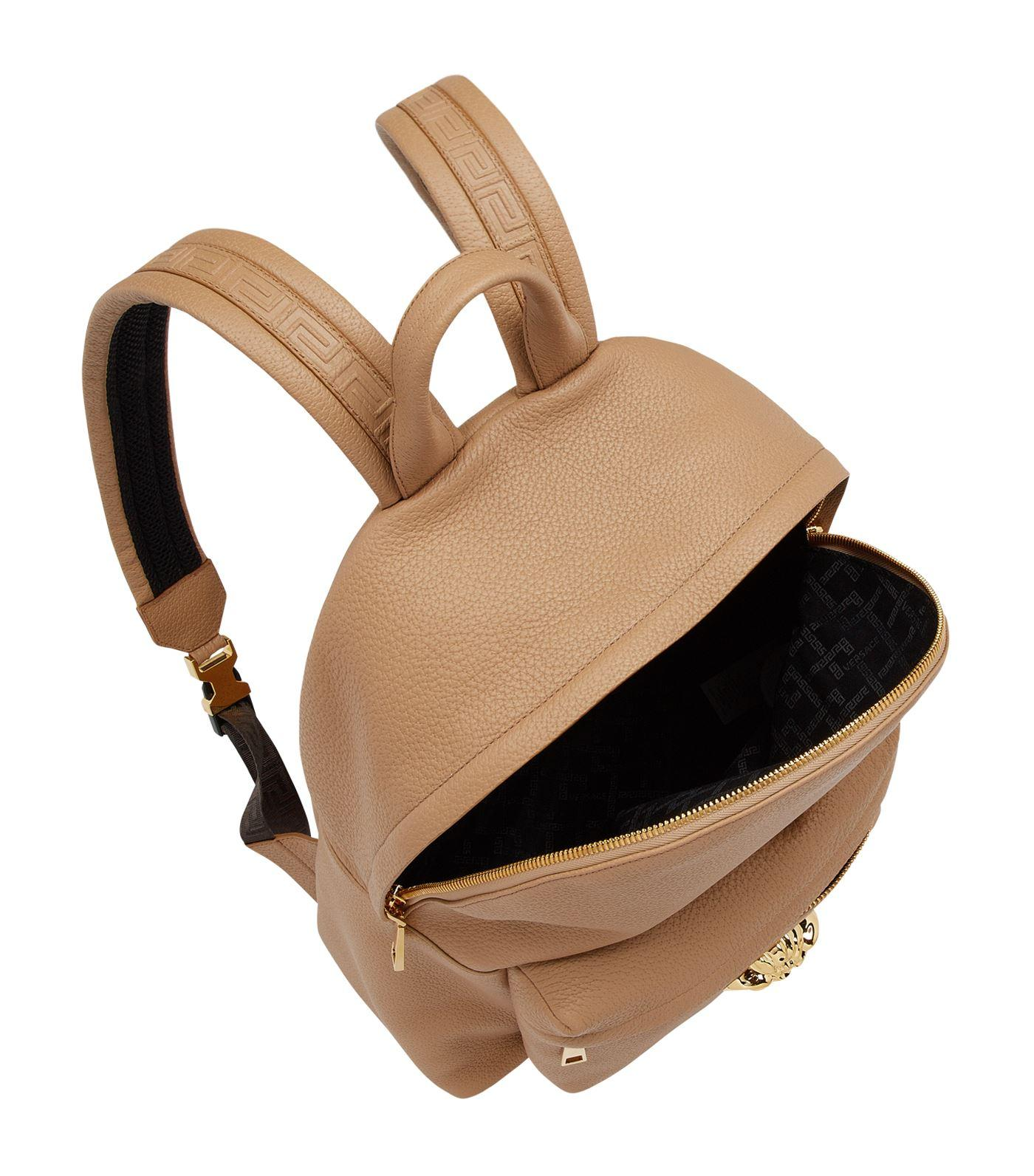 Versace Palazzo Calf Leather Backpack for Men