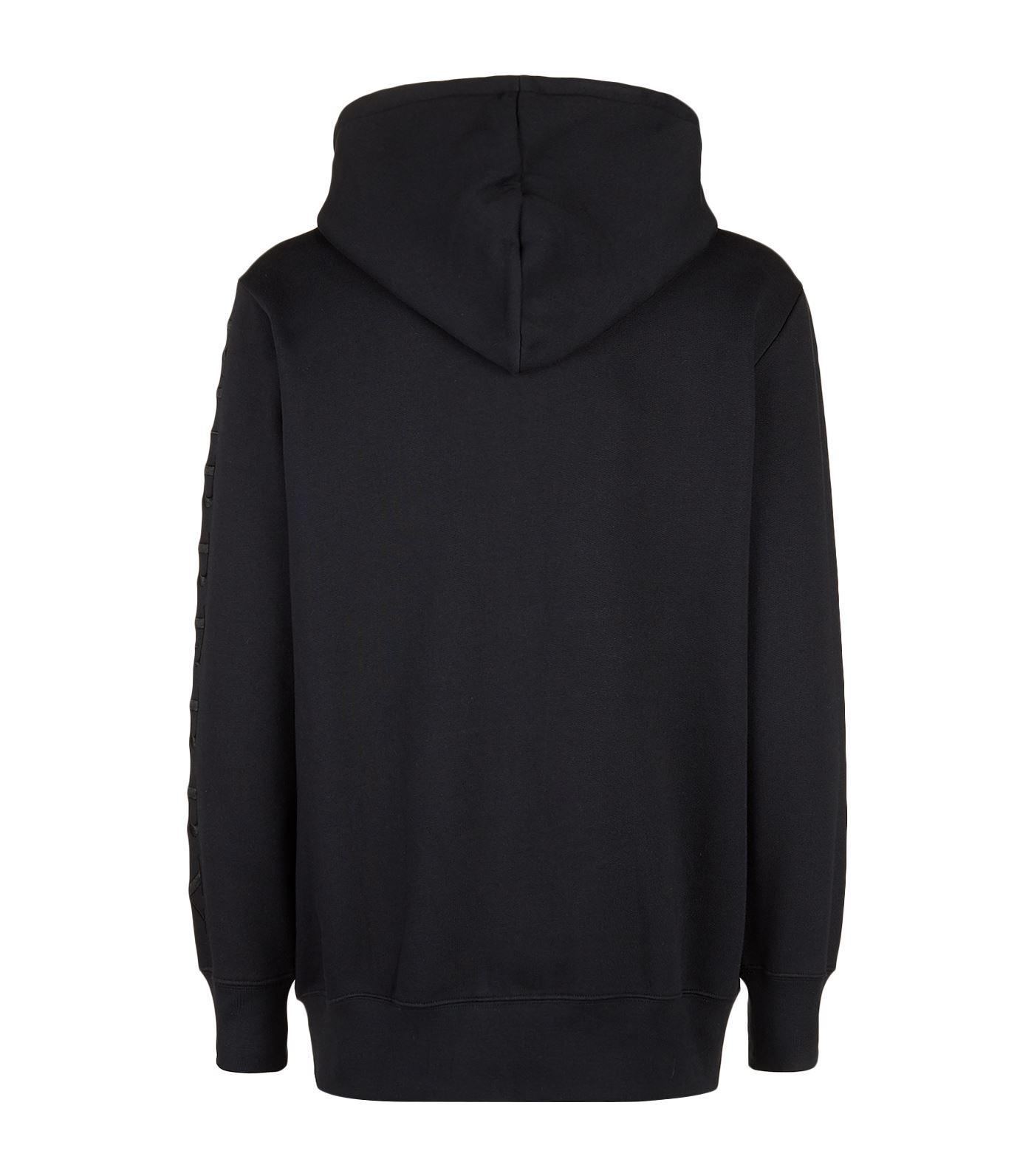 Burberry Cotton Logo Embroidered Sweatshirt for Men