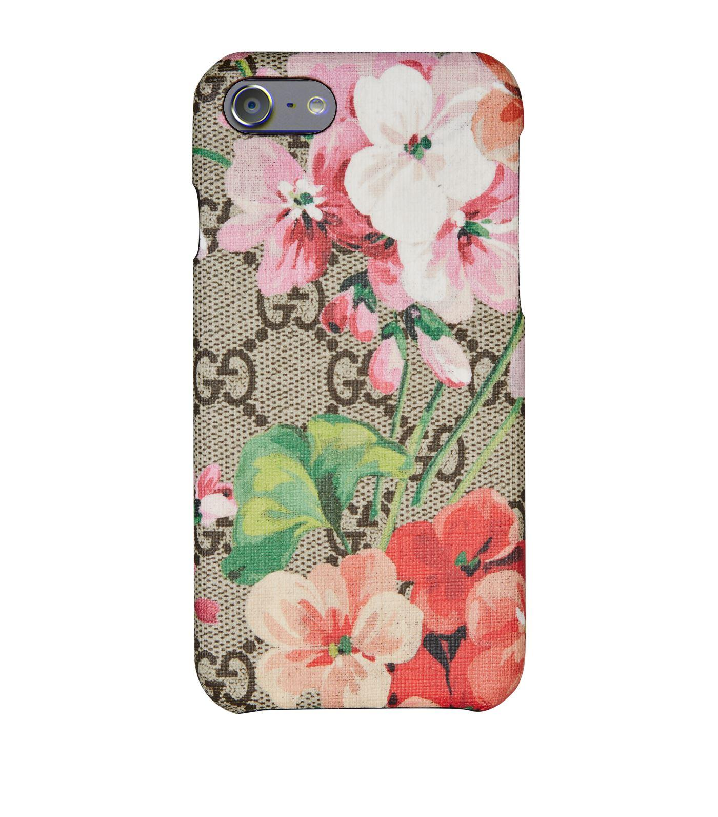 3bac448d3672 Gucci GG Blooms Iphone 8 Case - Save 15% - Lyst
