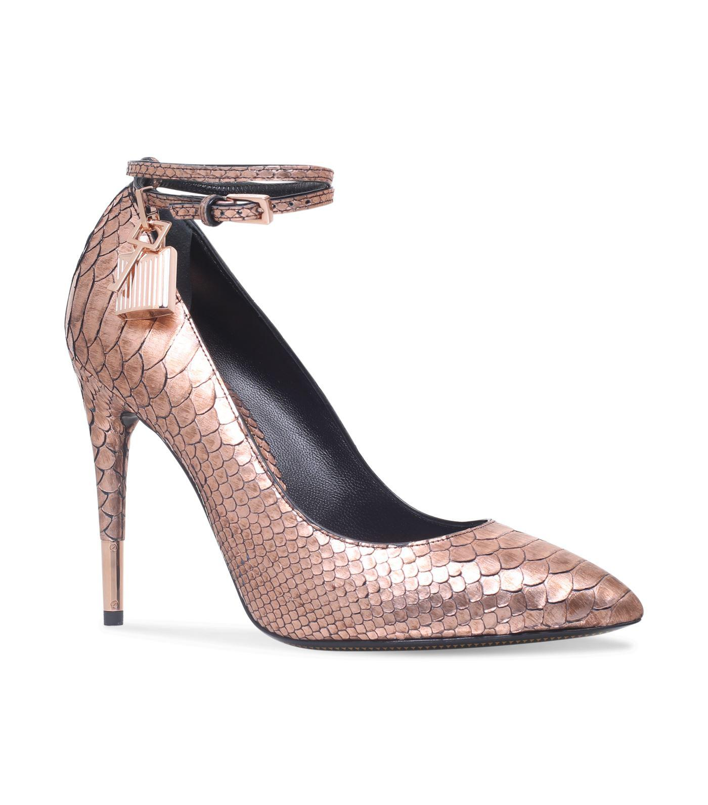 sale official site Tom Ford Metallic Snakeskin Pumps clearance huge surprise explore for sale outlet comfortable KKEQqbJ