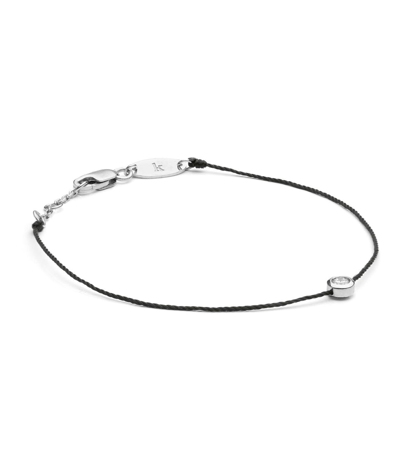 Redline Women S White Gold And Diamond Pure Bracelet