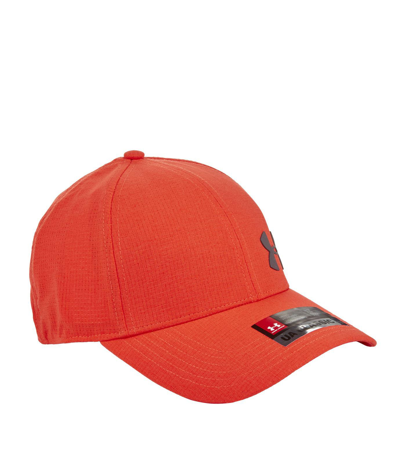 ebbf8e6d4bf Under Armour Armourvent Training Cap in Red for Men - Lyst