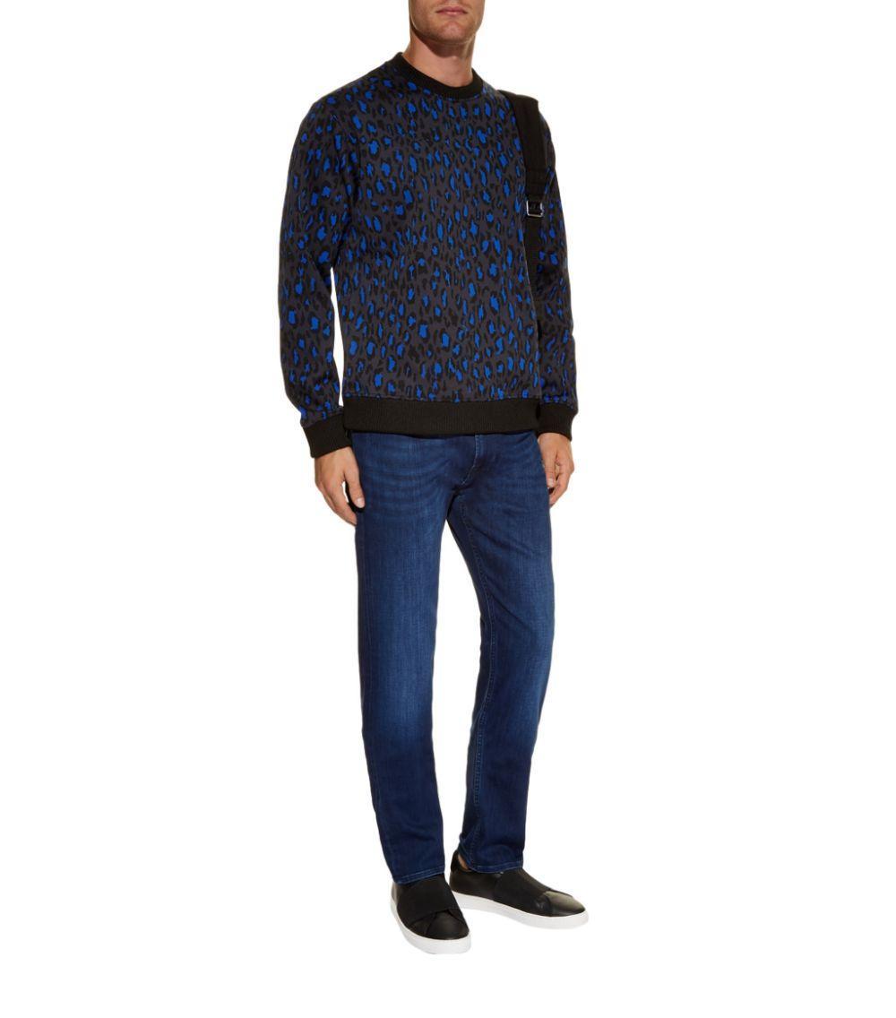 7 For All Mankind Denim Kayden Luxe Performance Slim Jeans in Navy (Blue) for Men