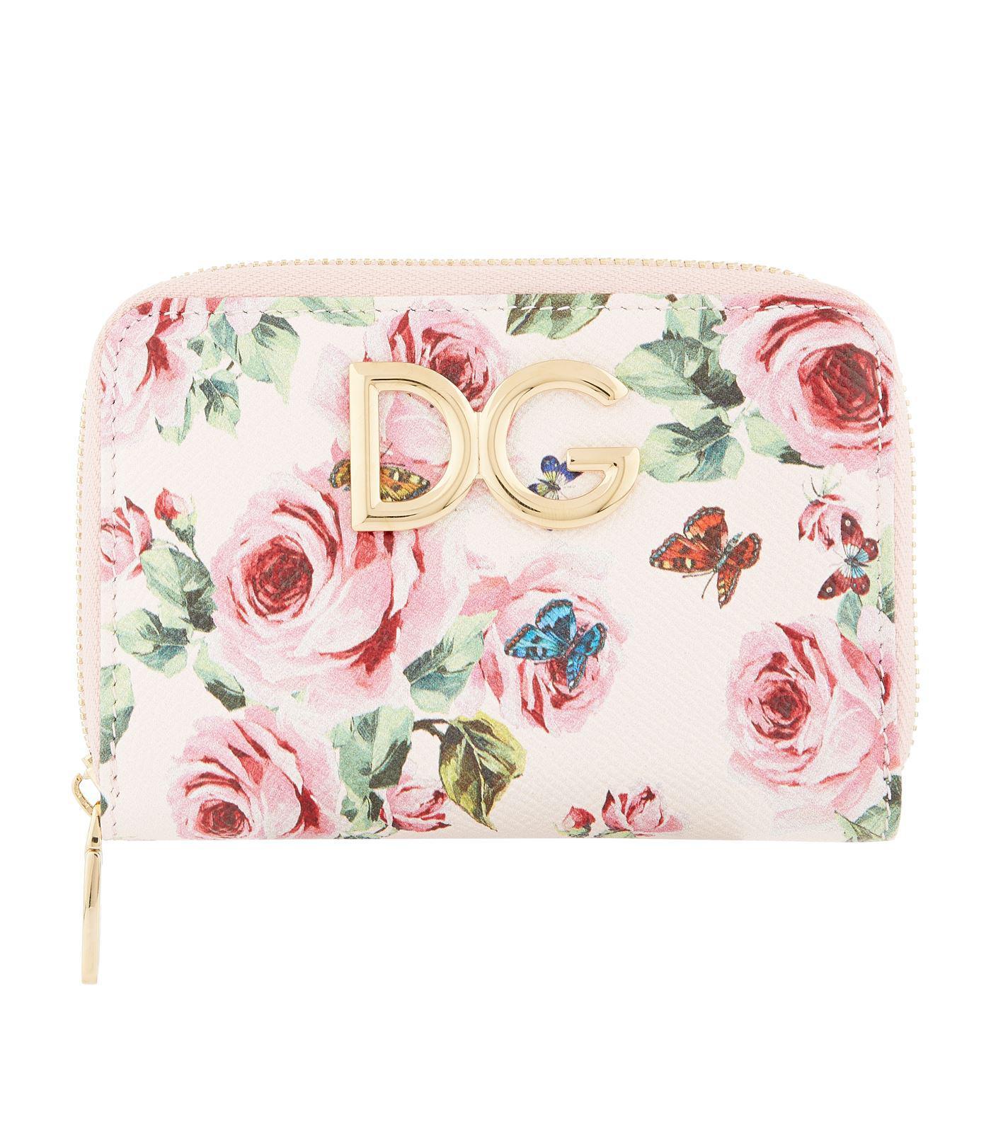 Portefeuille Imprimé Floral - Blanc Dolce & Gabbana FATdZt