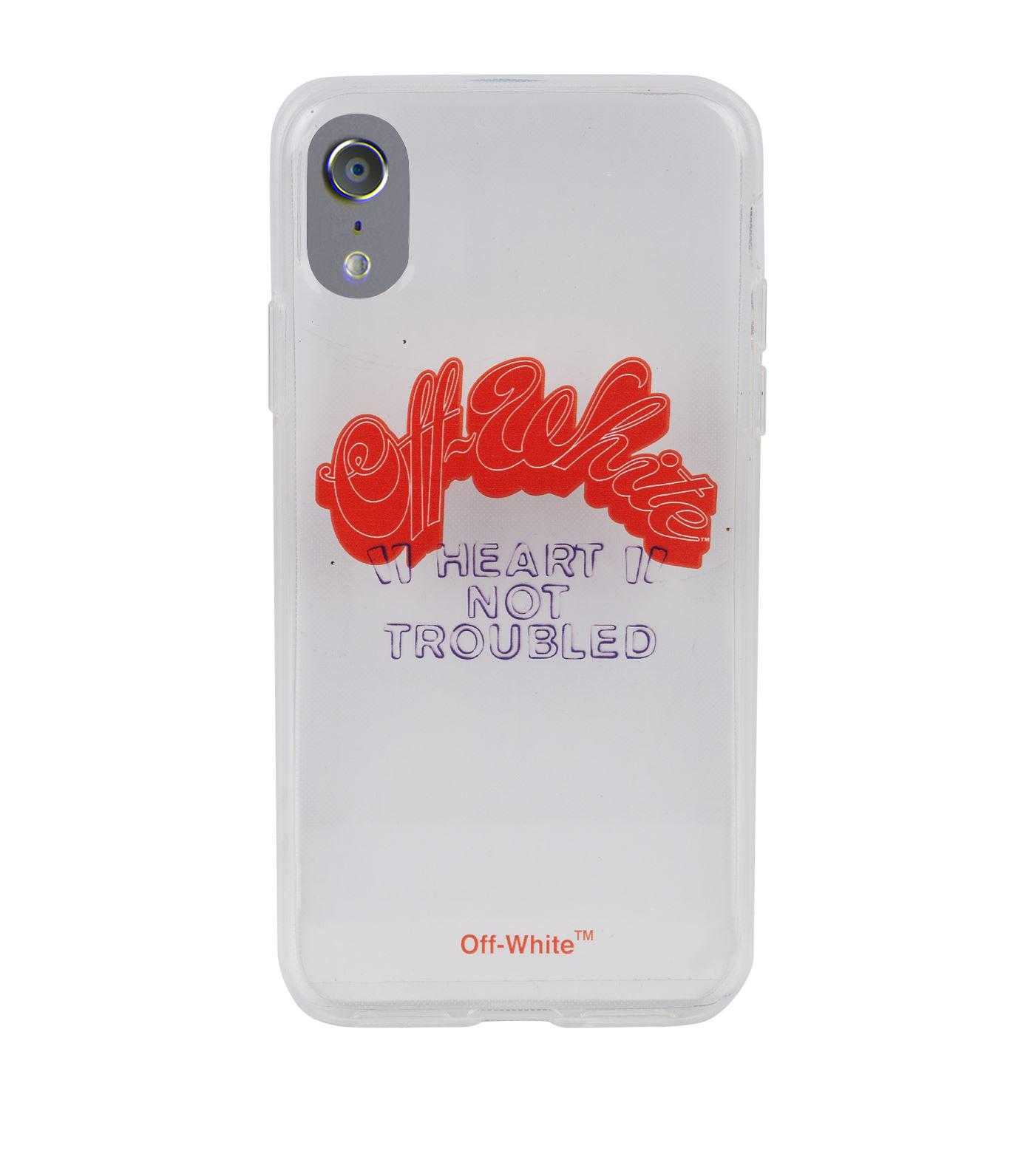 7b473384 Off-White c/o Virgil Abloh Red Not Troubled Iphone X Case