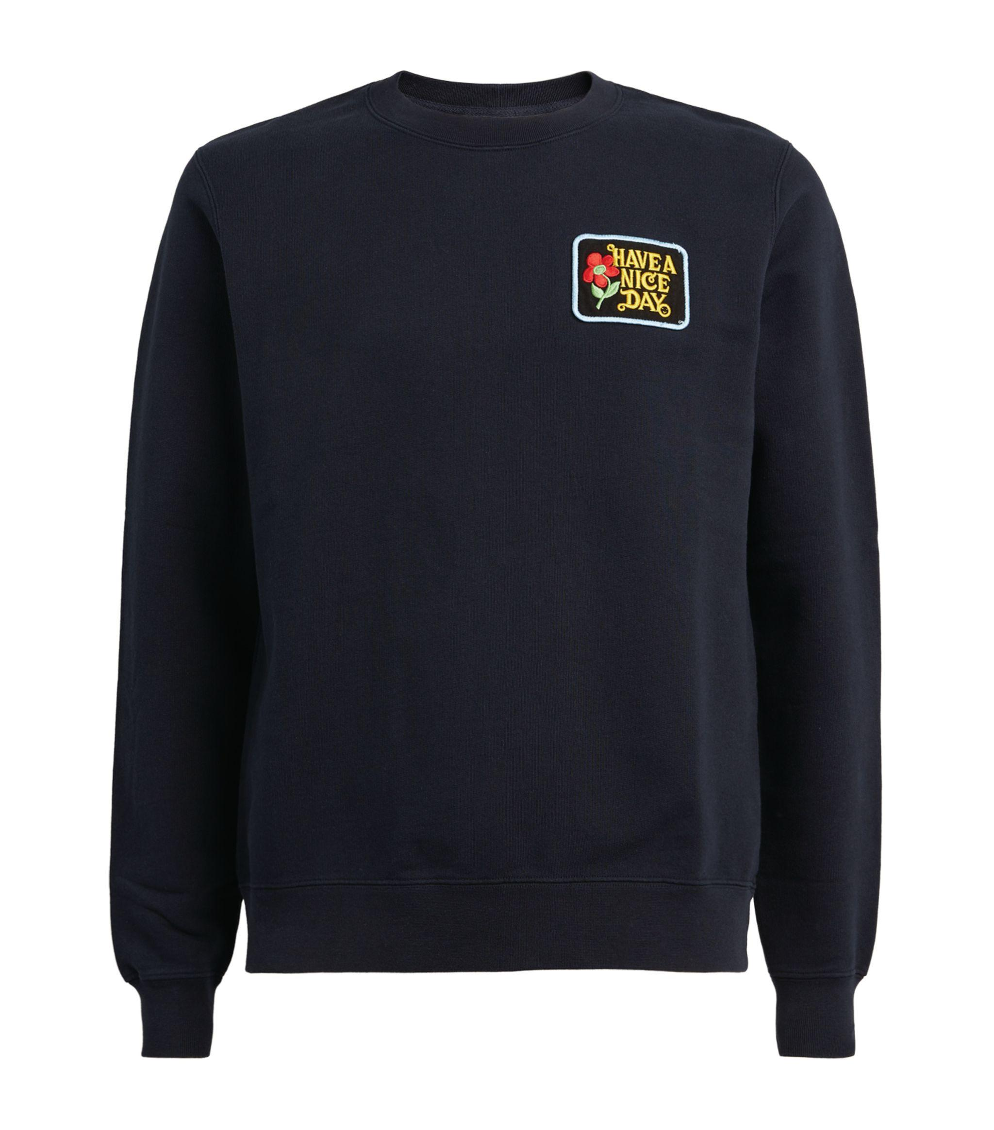 Can be personalised Embroidered Rainbow /'Have a lovely Day/' Sweater Jumper
