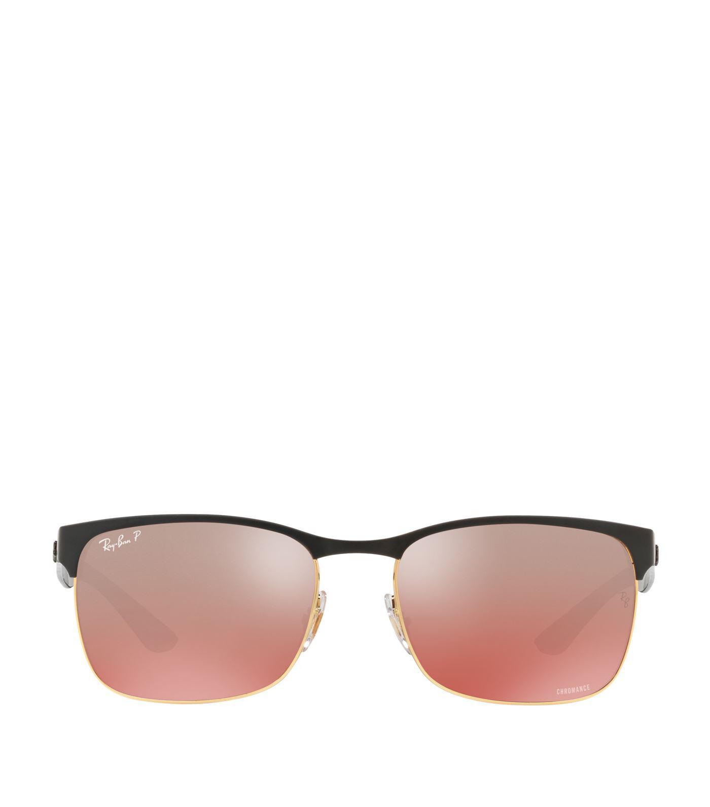 667e2da18d Ray-Ban Chromance Sunglasses in Black - Lyst
