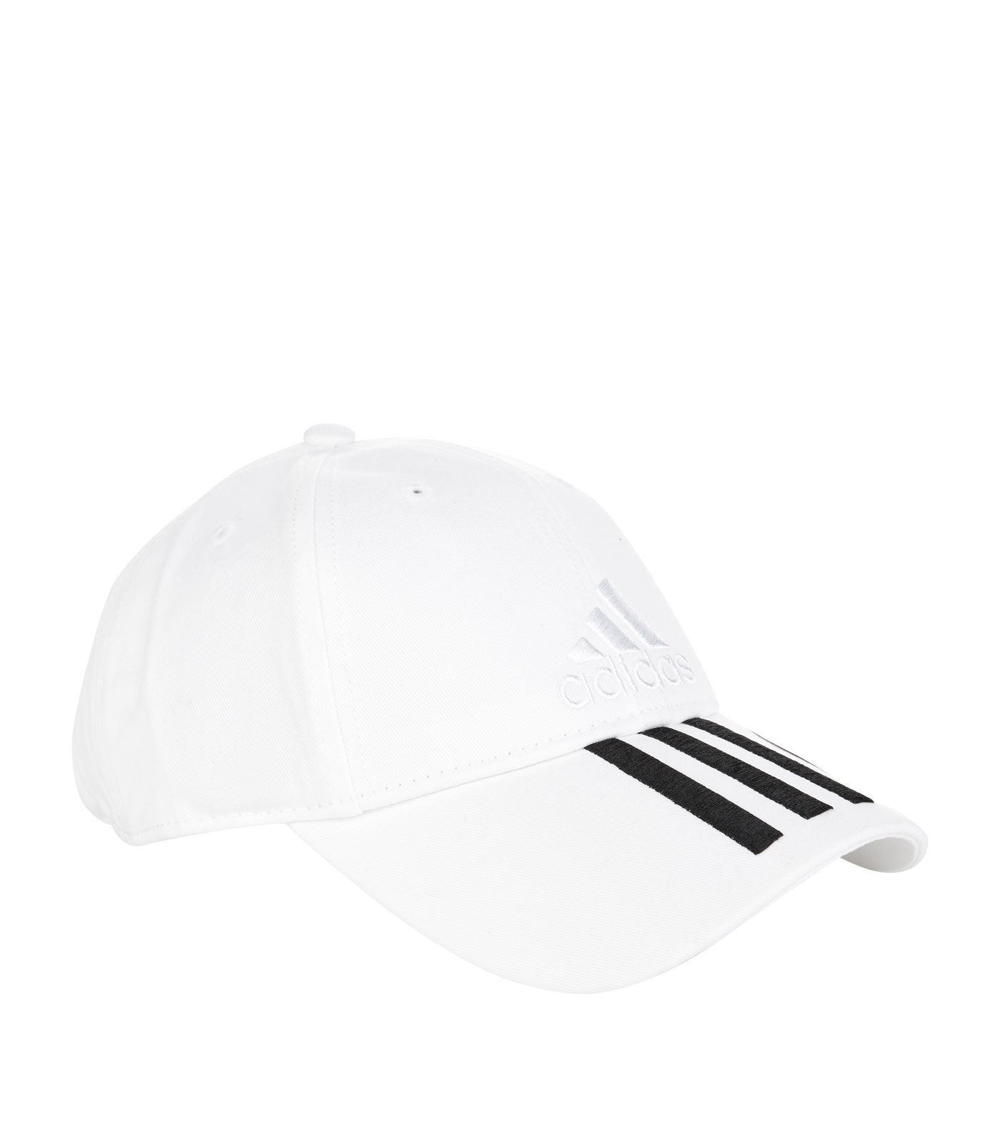 43b6a1a3343a2e ... best adidas white classic three stripe cap for men lyst. view  fullscreen 76626 06a56