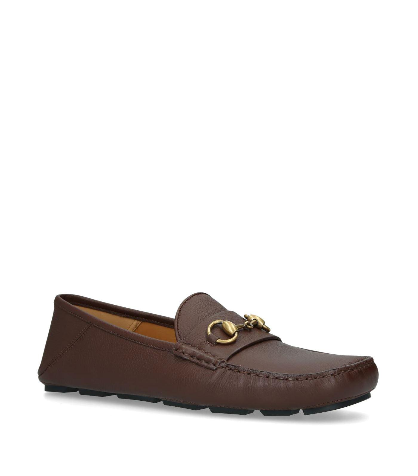 Gucci Leather Black kanye Driving Loafers for Men - Lyst