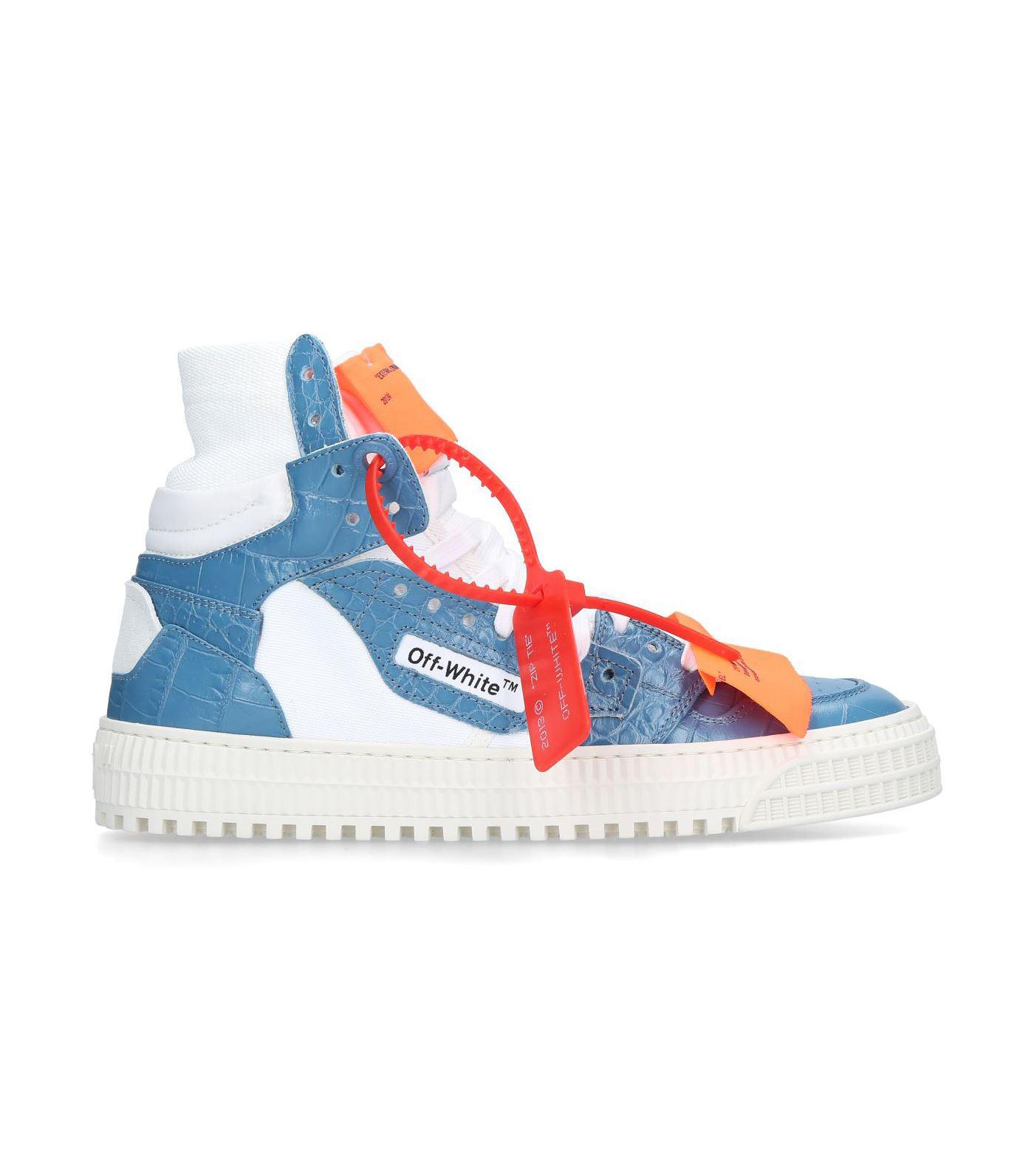 o Virgil Abloh Leather Off Court High