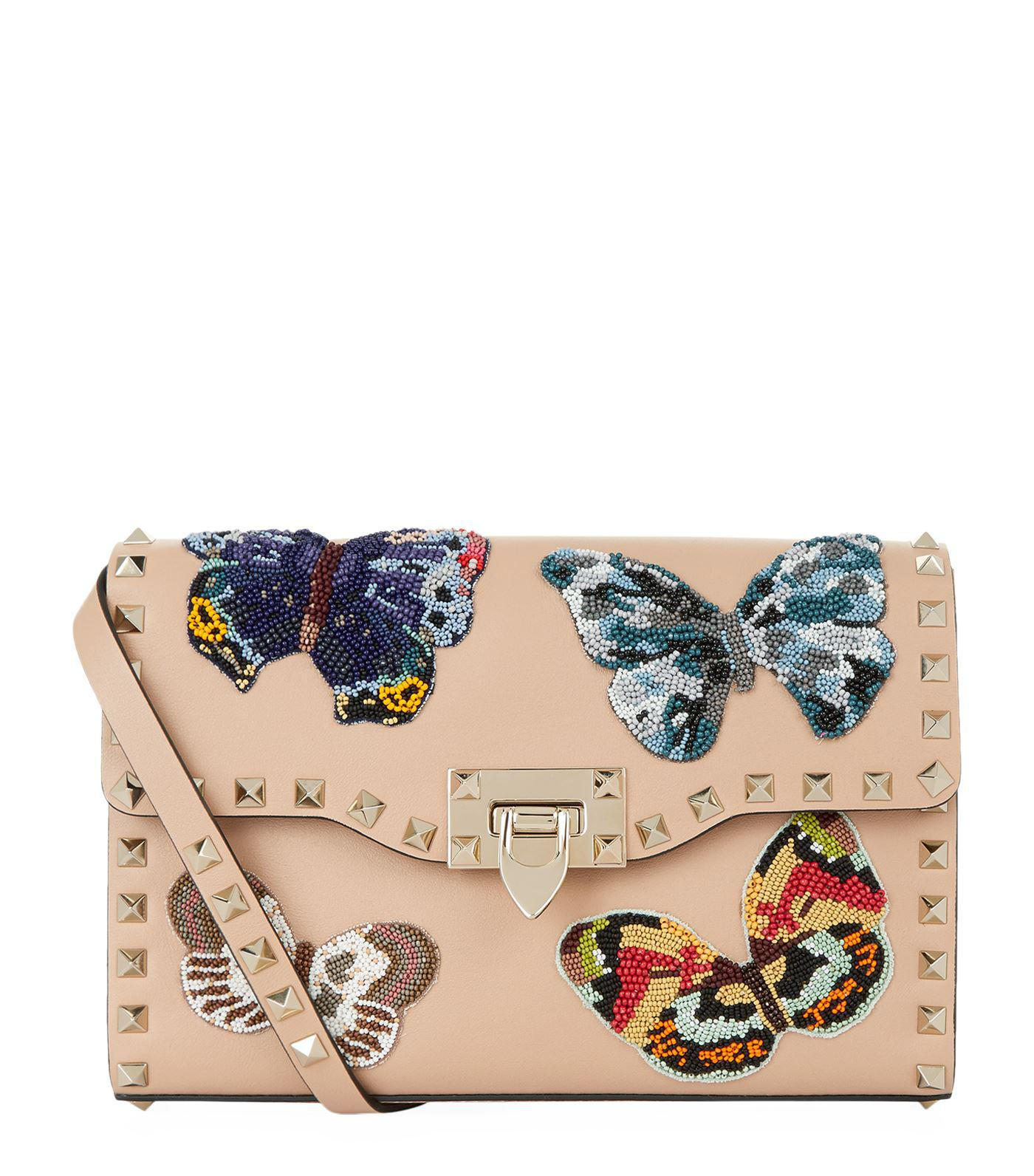 Rockstud Spike IT Butterfly medium shoulder bag Valentino zJ67gZGy