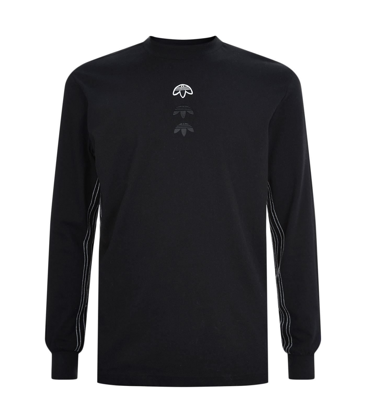 Lyst Adidas Originals Long Sleeve Upside Down Trefoil T
