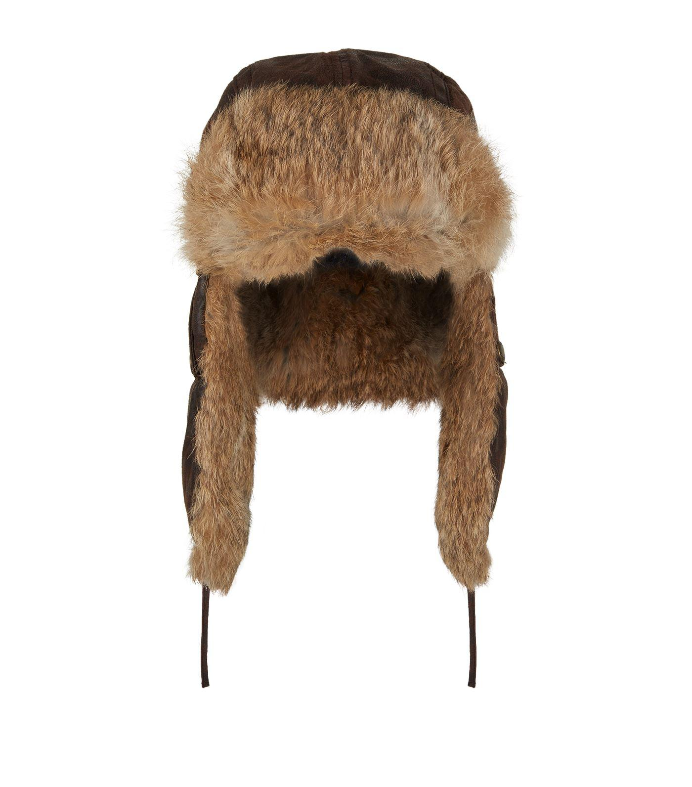 Lyst - Stetson Starkville Aviator Hat in Brown for Men 71c72856ee3d