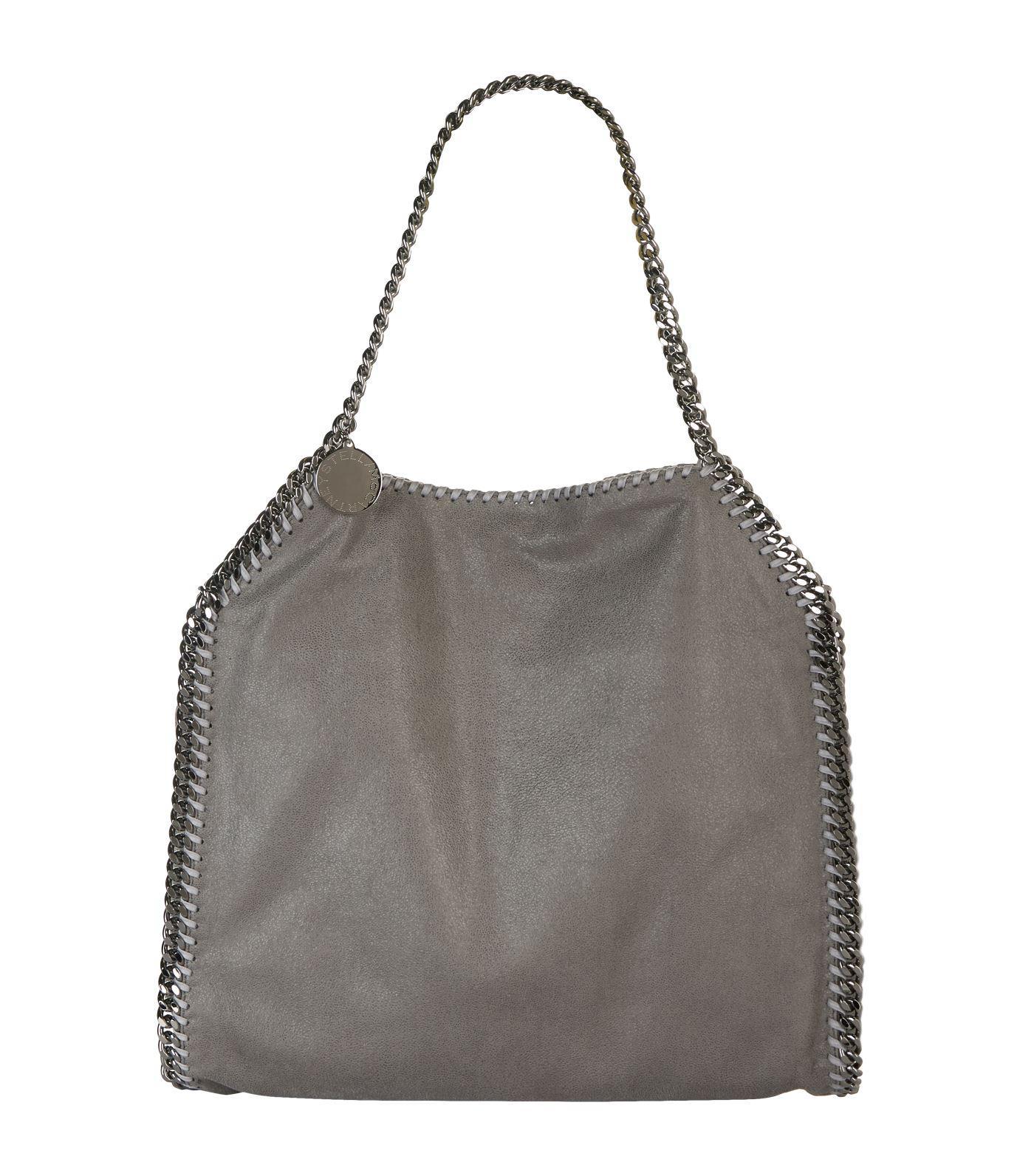 Stella McCartney Small Falabella Tote Bag in Grey (Grey)