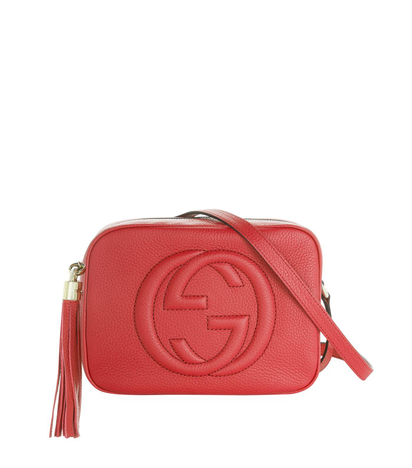 070d9b542b68 Lyst - Gucci Soho Small Leather Disco Bag in Metallic - Save 25%