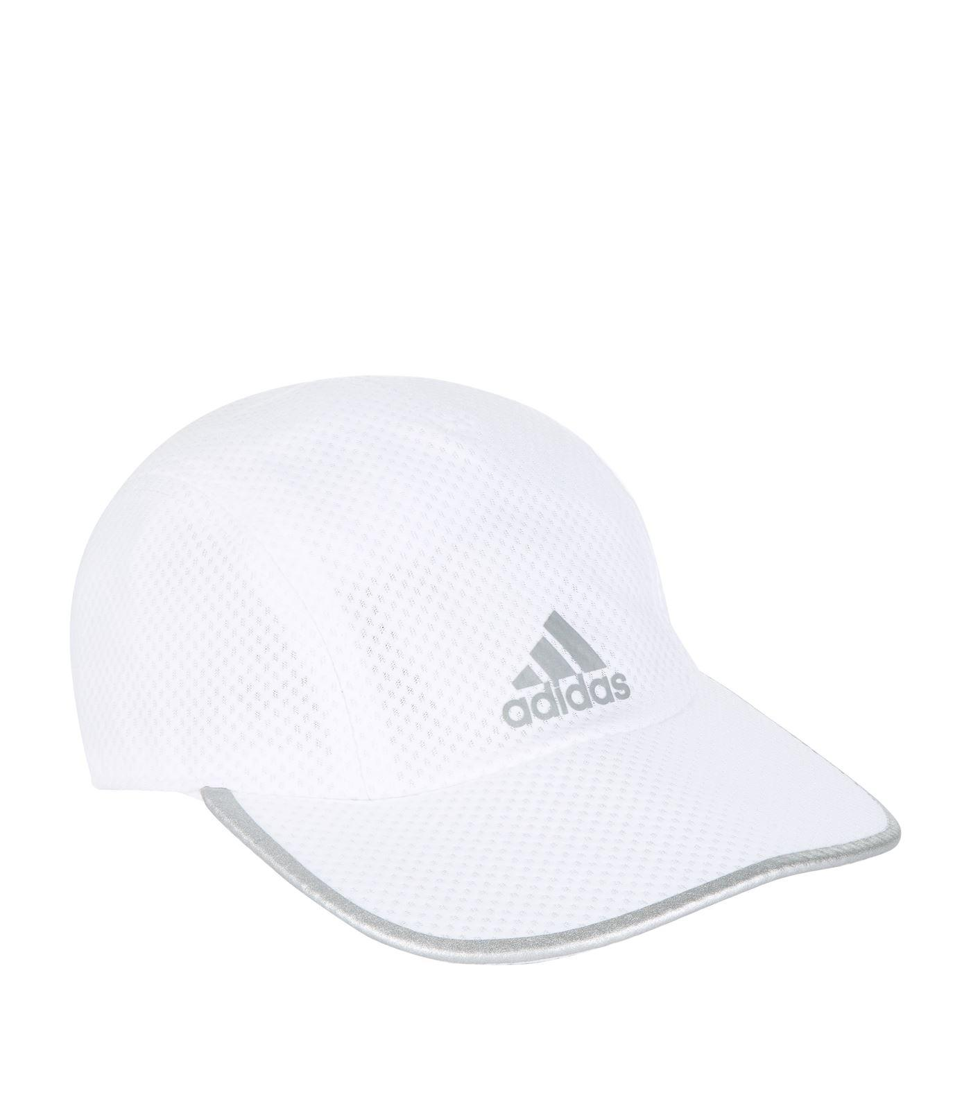 new styles e2876 5de22 Adidas White Climacool Running Cap for men