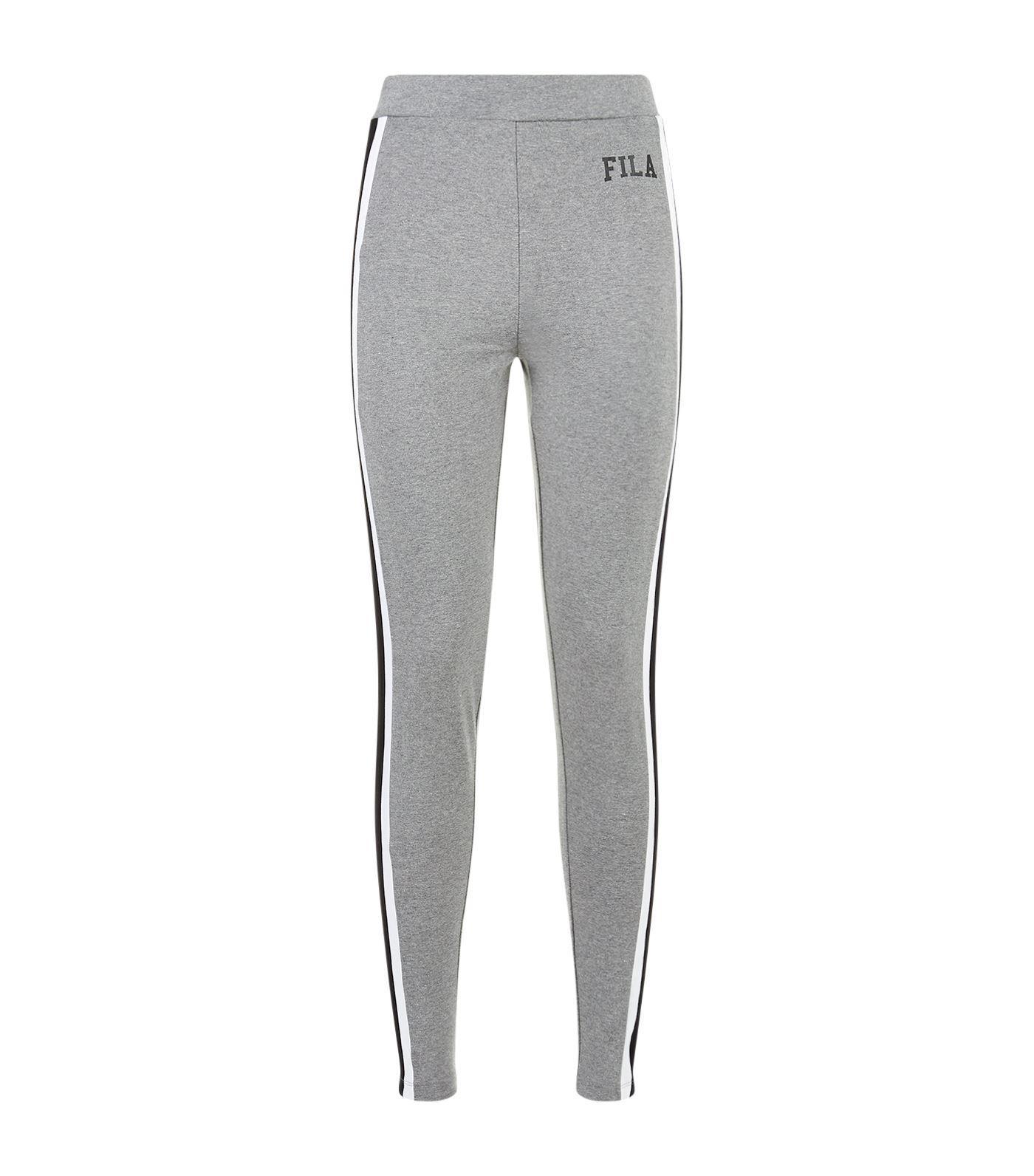 1937aadb92ffd Lyst - Fila Bette Side Stripe Leggings in Gray