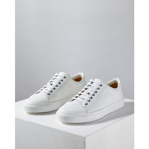 Jigsaw Campbell Leather Trainer in