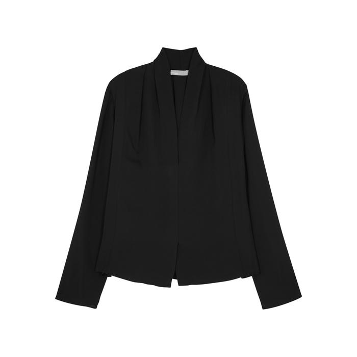 7bae16d47f584 Vince. Women s Black Silk Chiffon Blouse. £290 From Harvey Nichols
