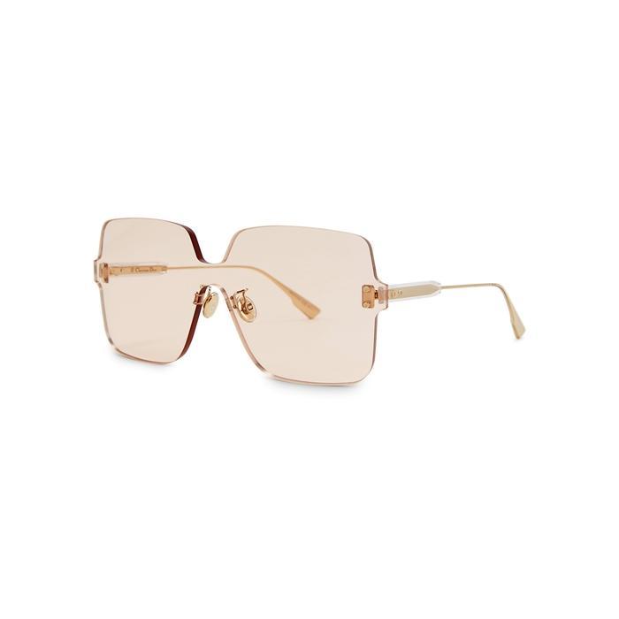 a166aa701e1 Dior. Women s Natural Colourquake1 Oversized Sunglasses. £281 From Harvey  Nichols