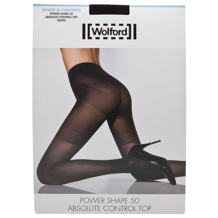08d060ddc2 Lyst - Wolford Black Power Shape Tights in Black - Save 3%