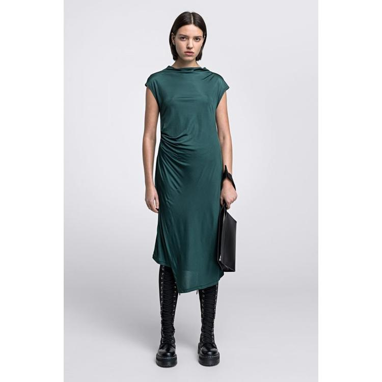 045efa1a70c03 House of Dagmar Josie Jersey Dress in Green - Lyst