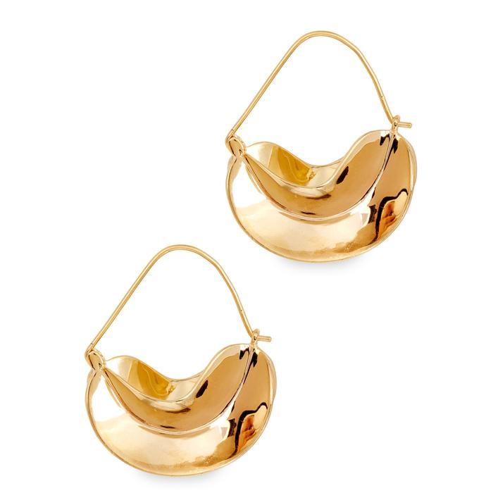 Anissa Kermiche Gold-plated earrings rfF7BzpigN