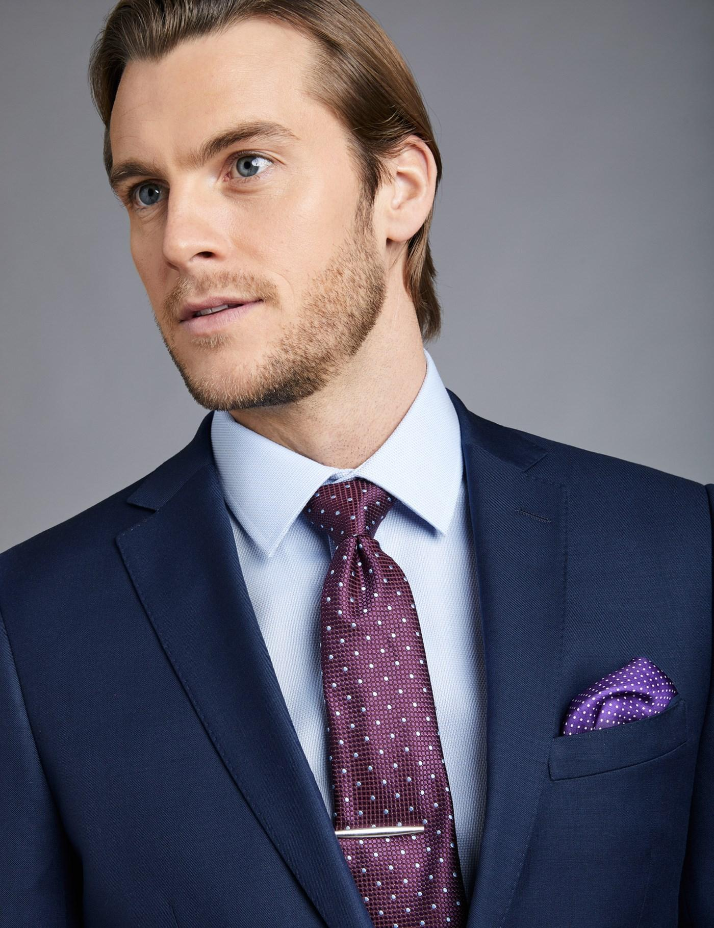 Lyst - Hawes & Curtis Royal Blue Twill Extra Slim Fit Suit