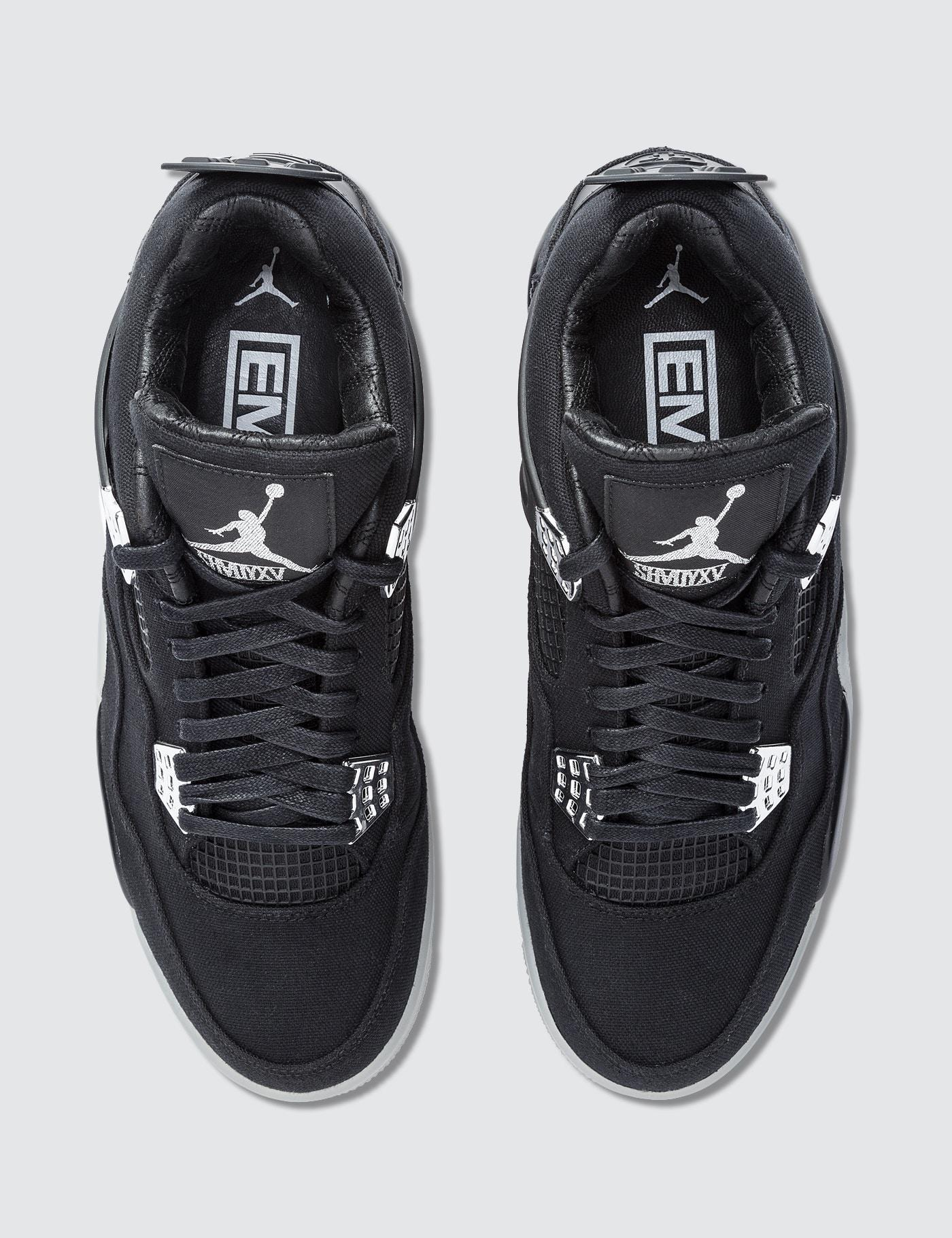 promo code 5b7e1 38196 Nike Black Eminem X Carhartt Air Jordan 4 Retro Promo Sample for men