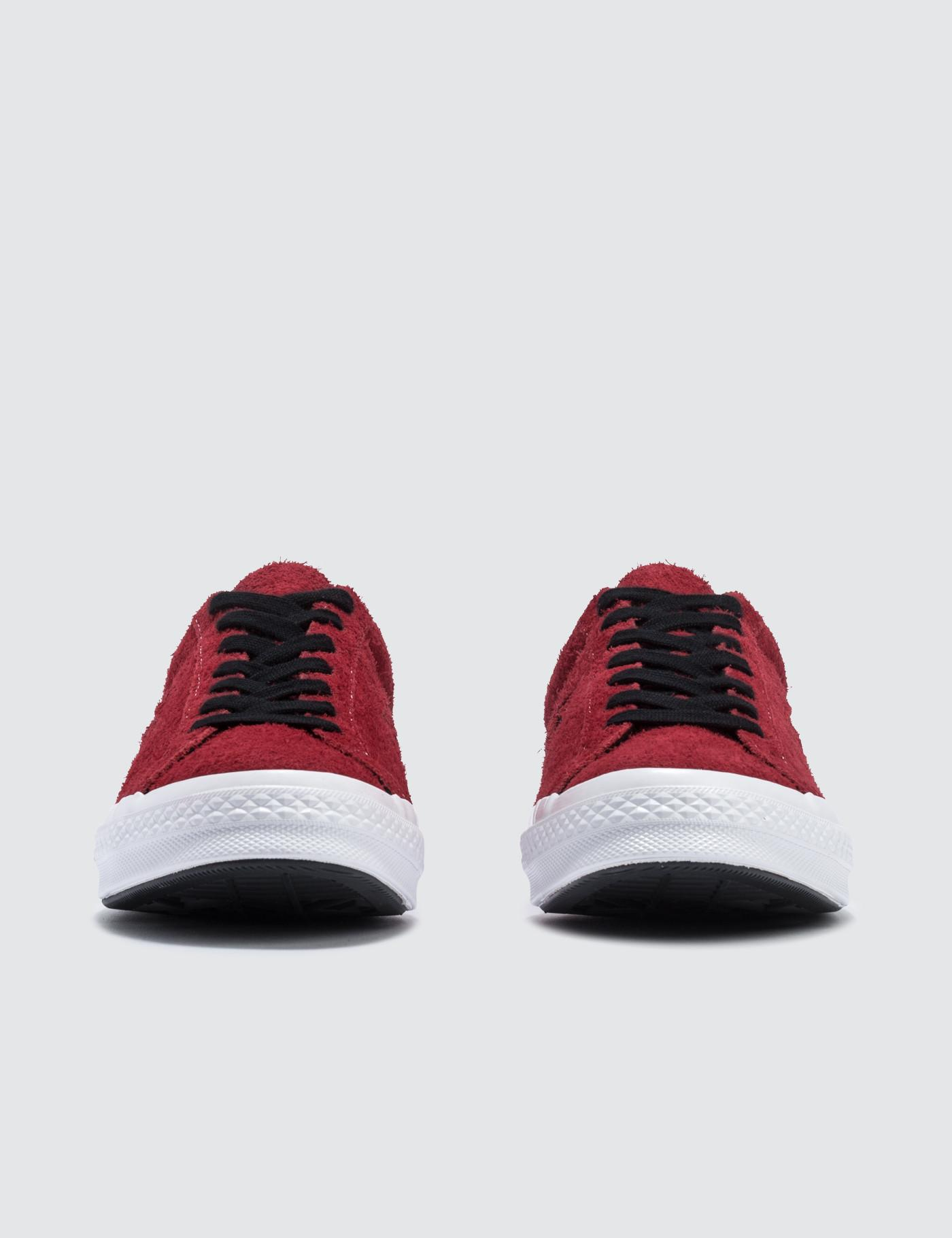 1f25f2e9461b42 Converse One Star in Red for Men - Save 20% - Lyst