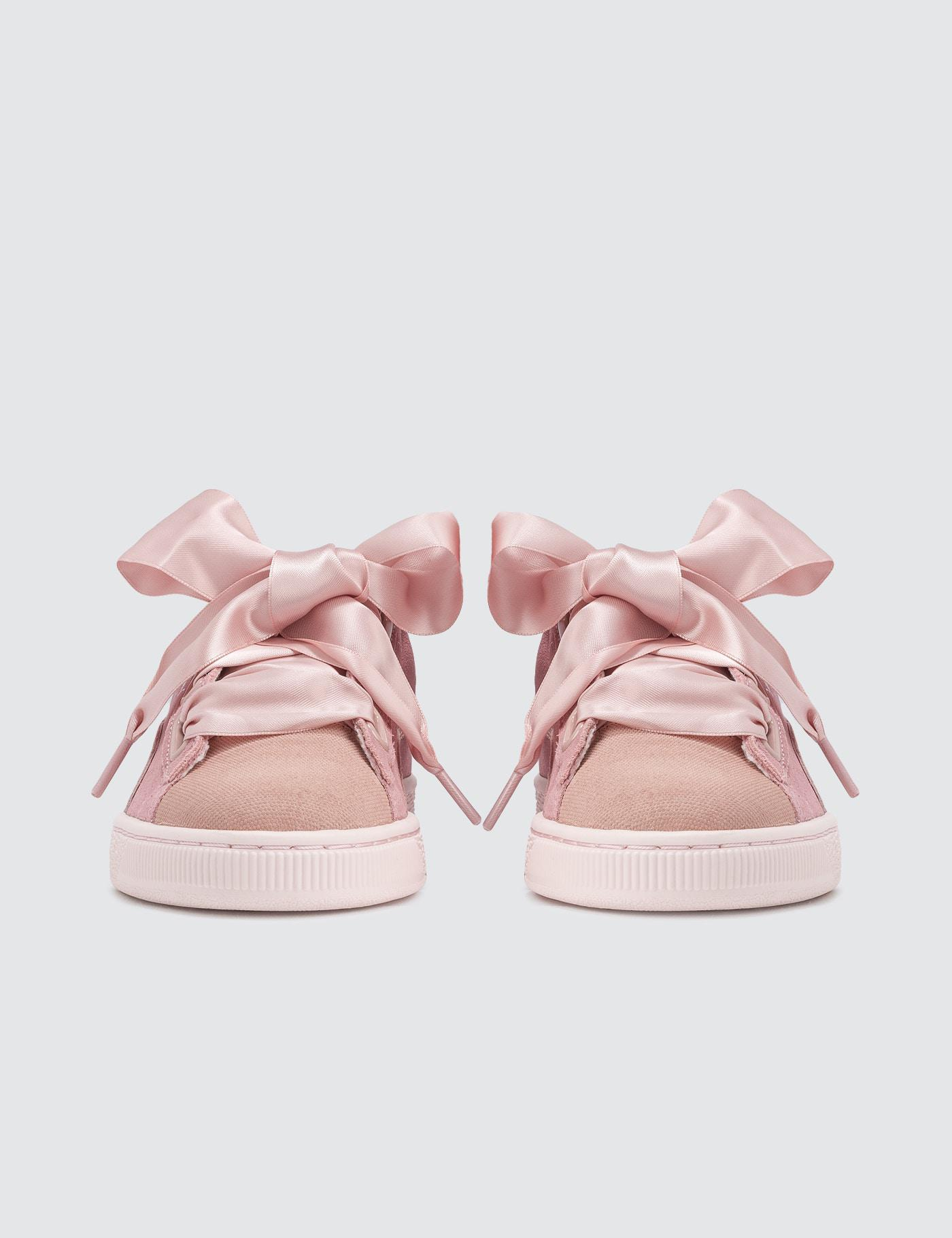 Suede Heart Pebble Wn's Trainers