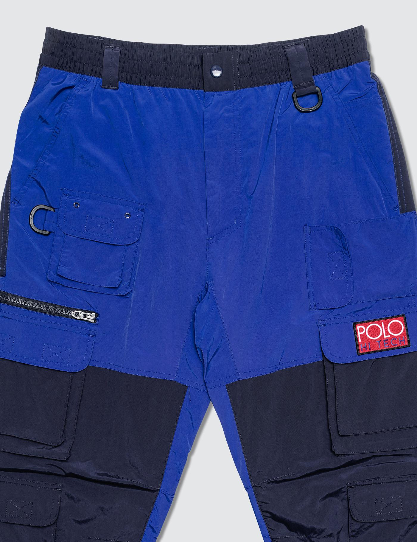 POLO Ralph Lauren Uomo Short Pant Solid Trunk RACER Blue