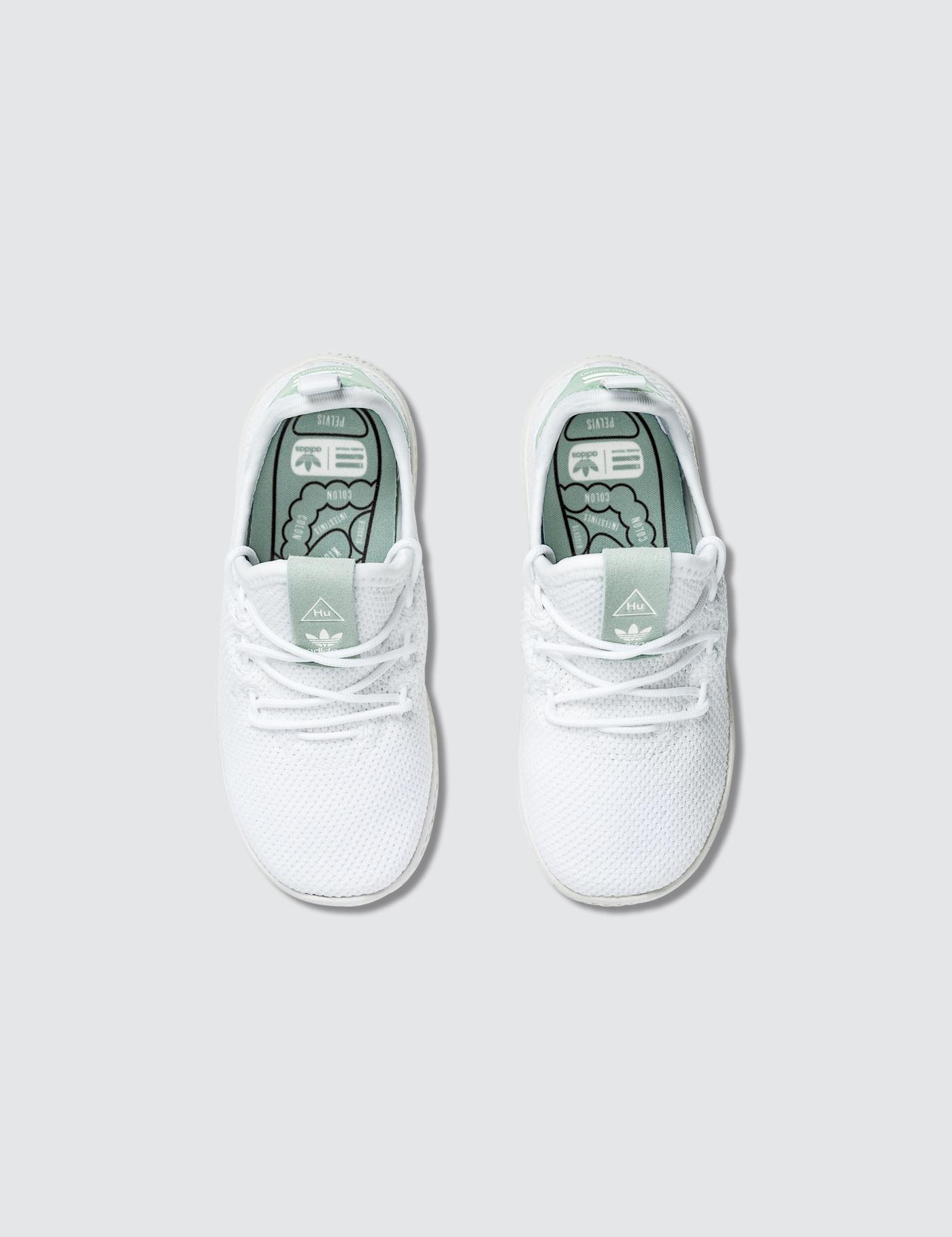 60d52e40c Lyst - adidas Originals Pharrell Williams X Adidas Pw Tennis Hu Infants in  White for Men
