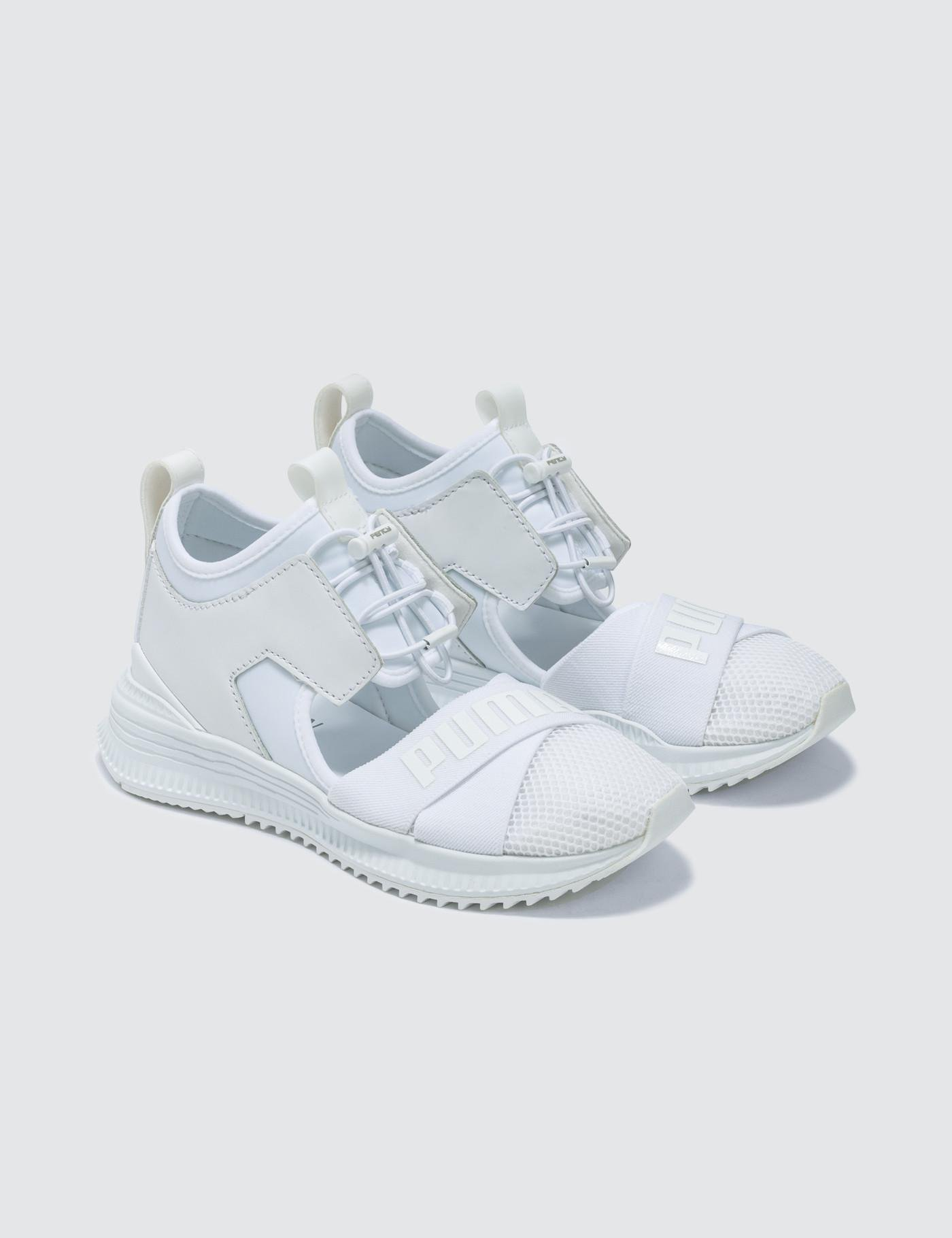 best sneakers cb5fc a3768 PUMA White Fenty Avid Wns Trainers