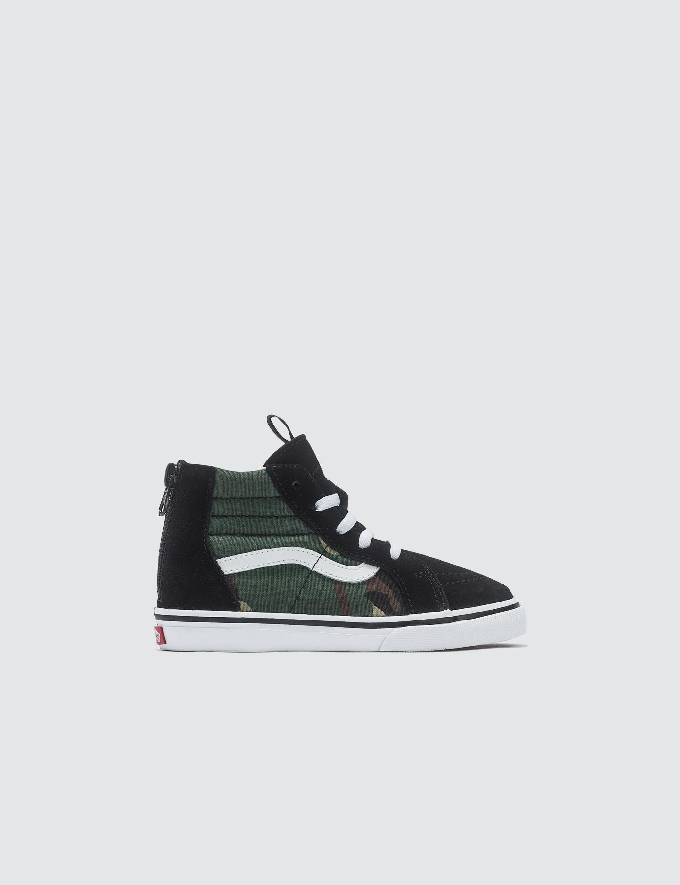 cd2aed761e1c Vans Sk8-hi Zip in Black for Men - Lyst